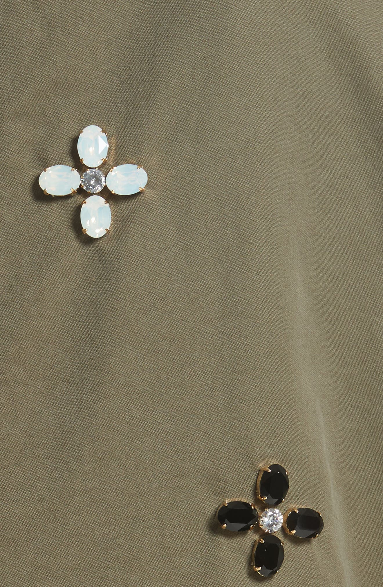 Alternate Image 5  - Tu es mon TRÉSOR Bijou Flower Field Jacket