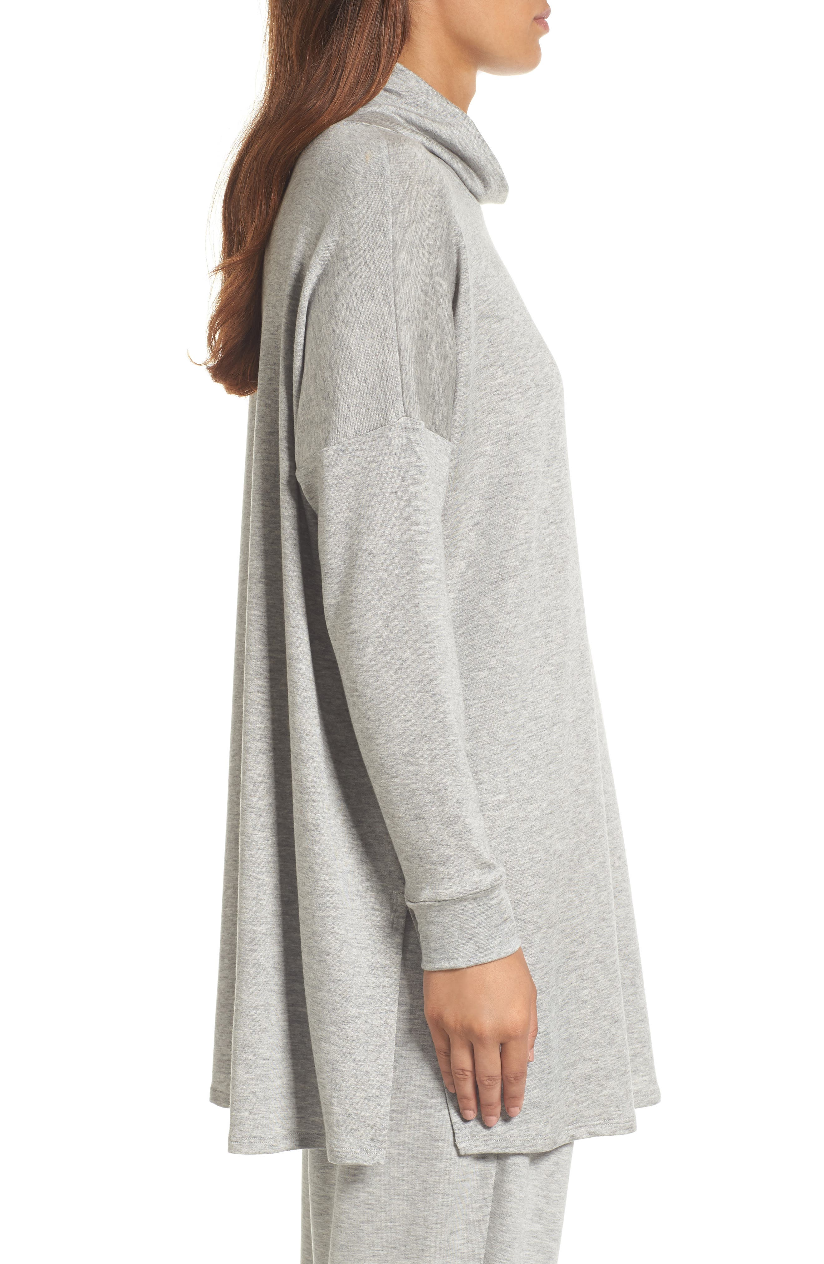 Alternate Image 3  - Eileen Fisher Funnel Neck Knit Tunic