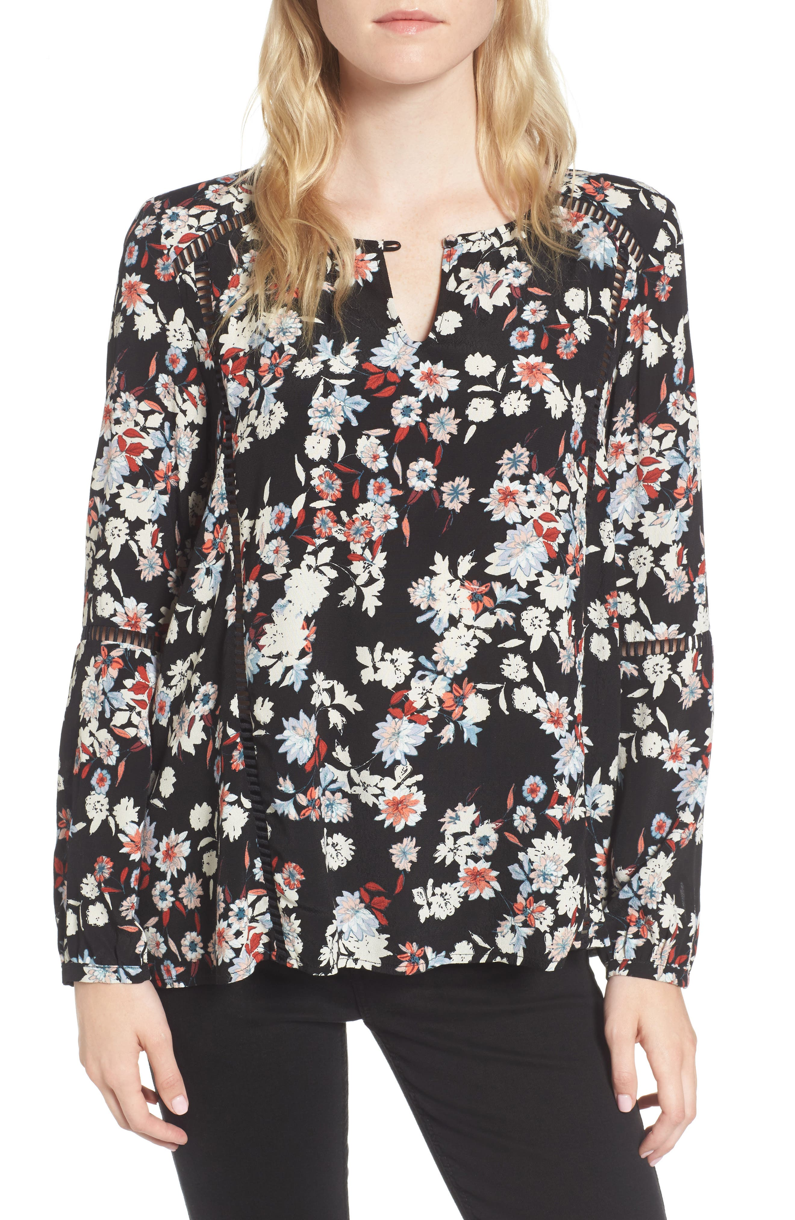 cupcakes and cashmere Kingsley Blouse