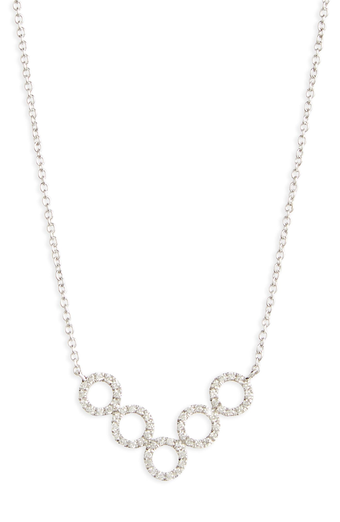 Alternate Image 2  - Bony Levy Geometric Circle Pendant Necklace (Nordstrom Exclusive)