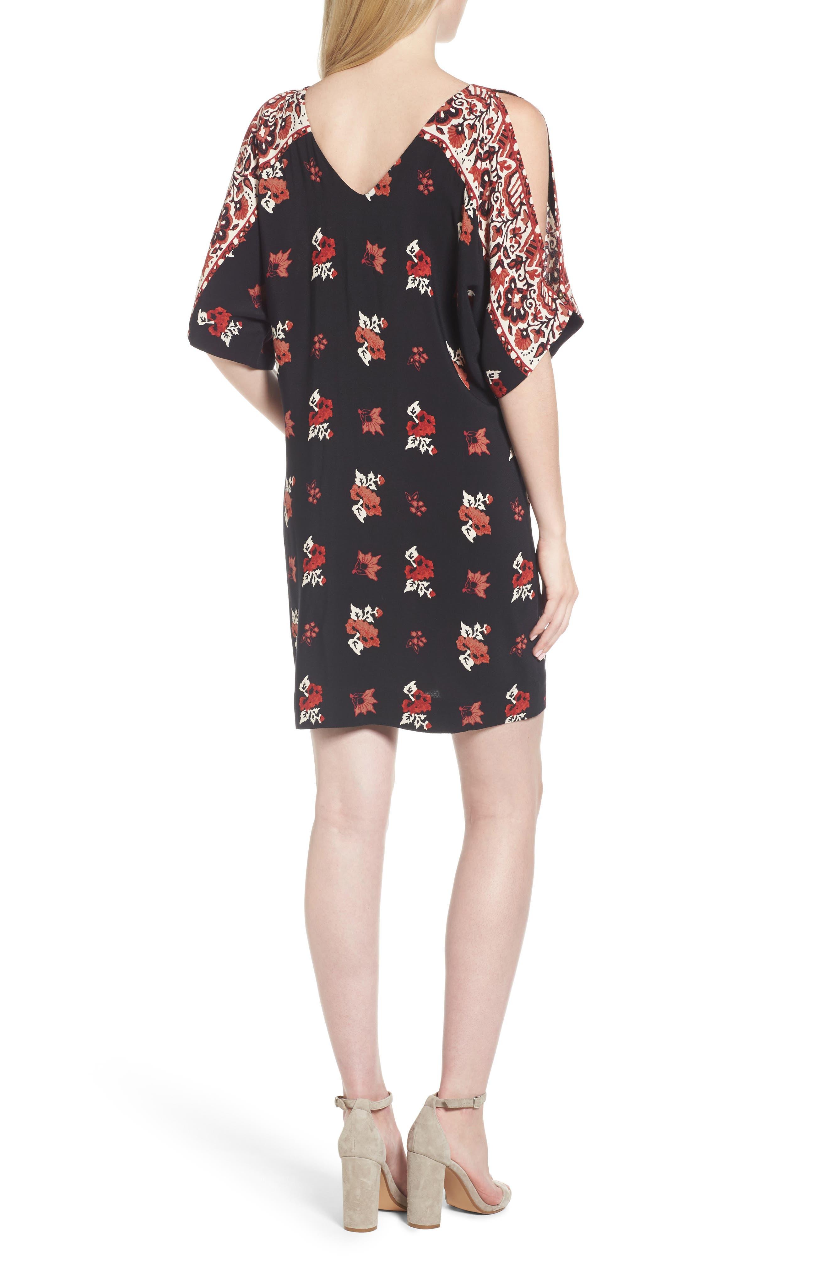Alternate Image 2  - Ella Moss Floral Shift Dress