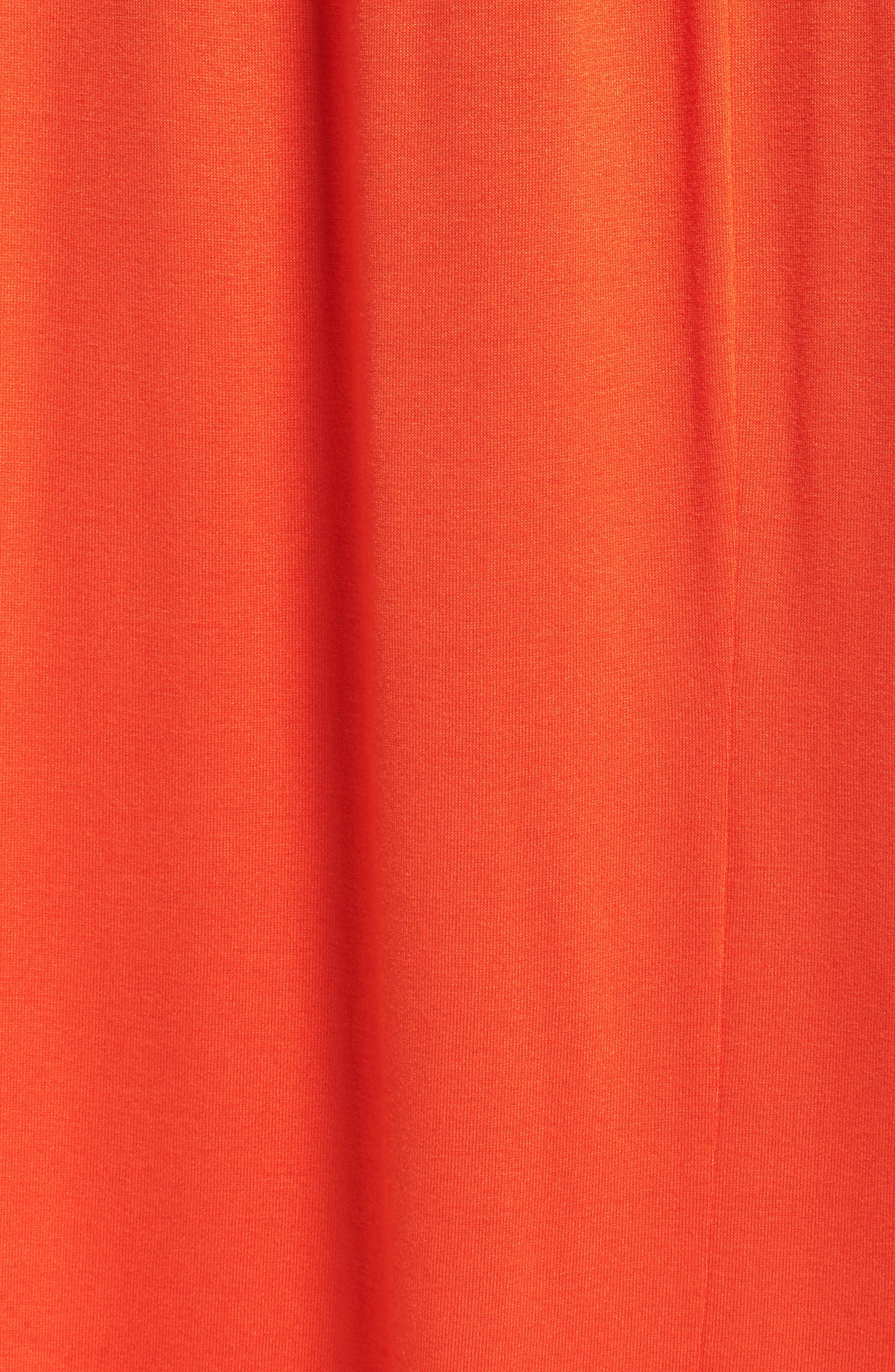 Alternate Image 5  - Dorothy Perkins Jersey Cold Shoulder Maxi Dress (Plus Size)