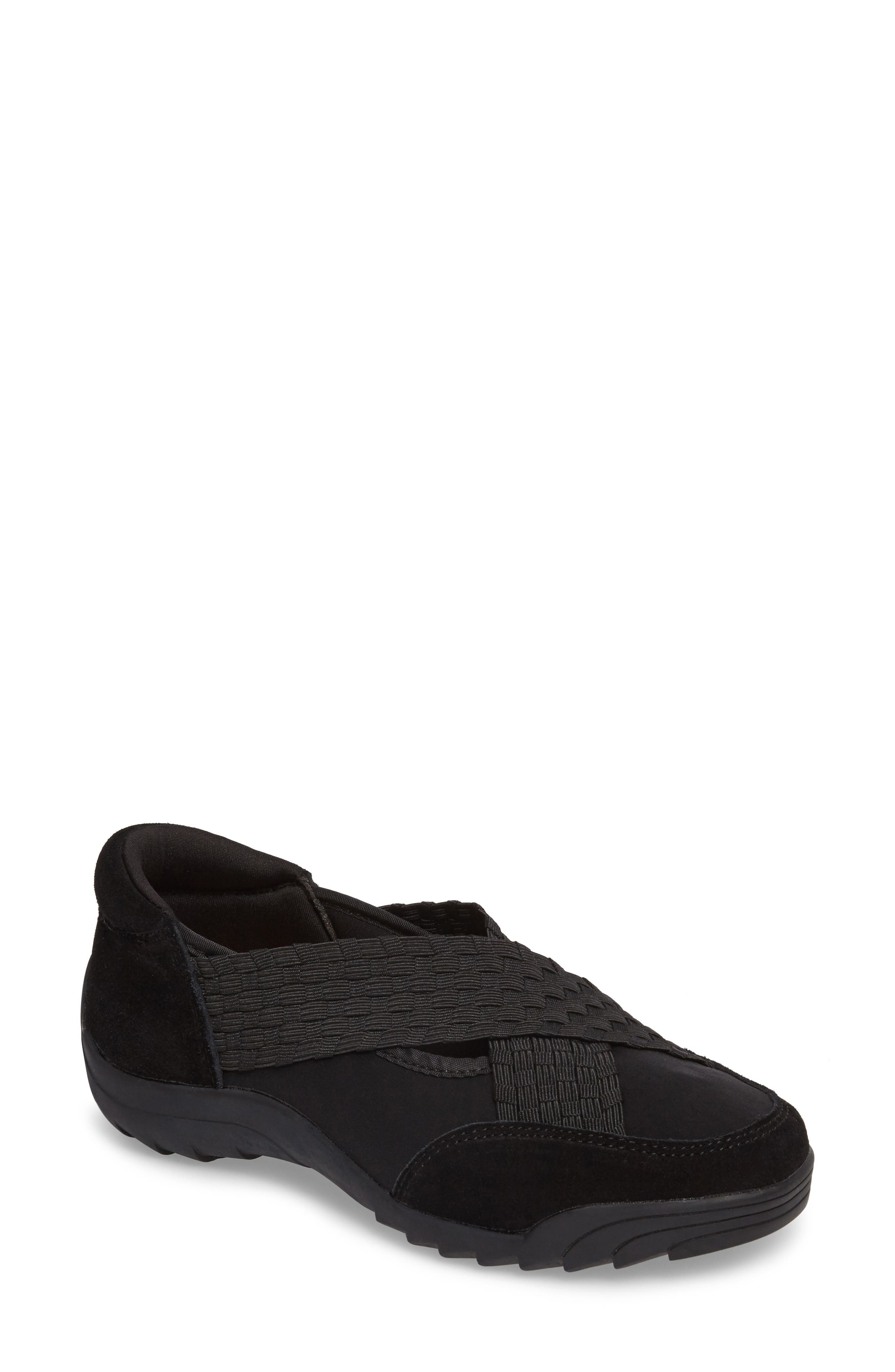 Rigged Phoenix Slip-On Sneaker,                             Main thumbnail 1, color,                             Black Fabric