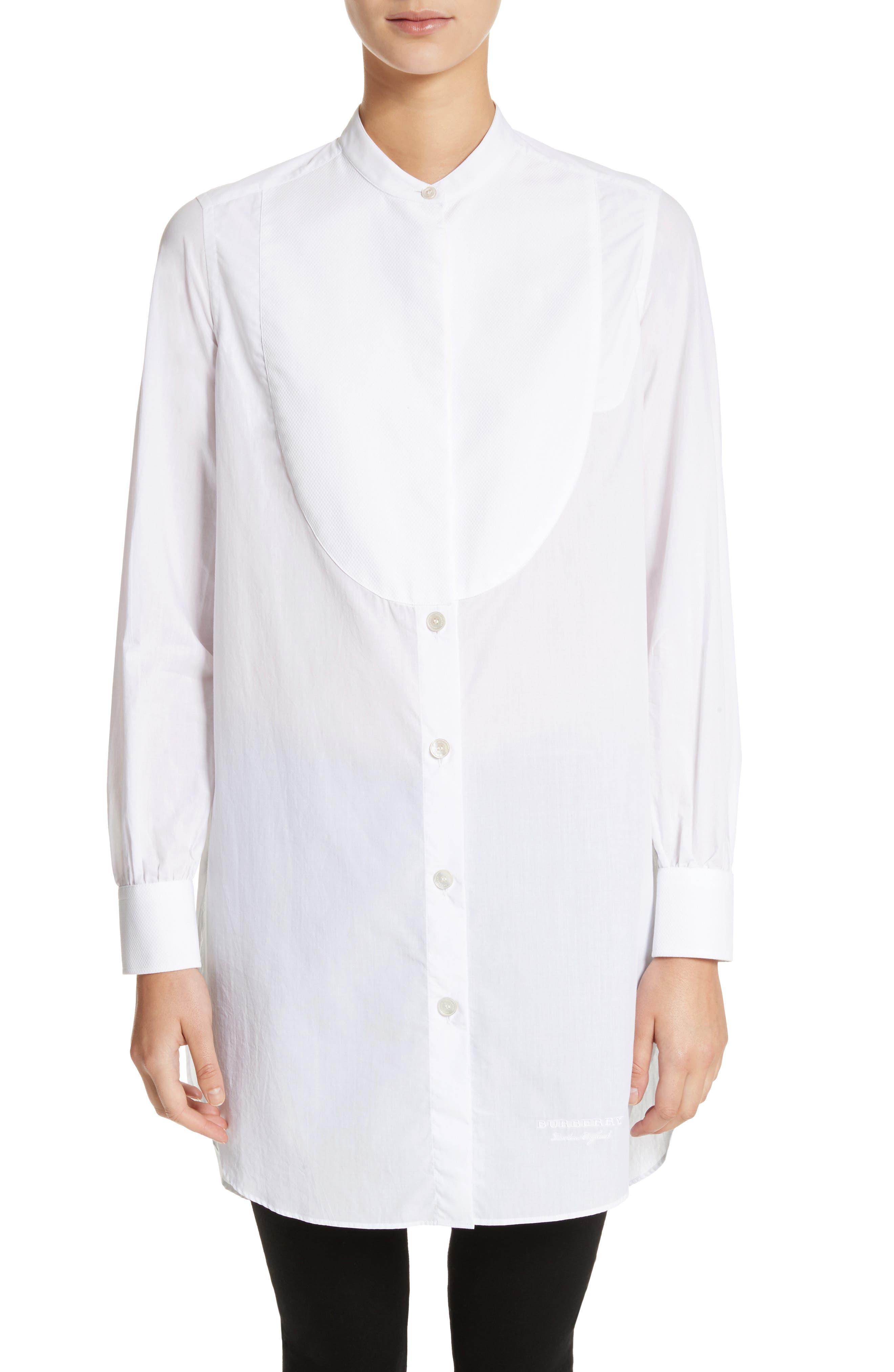Kite Cotton Bib Tunic,                         Main,                         color, White