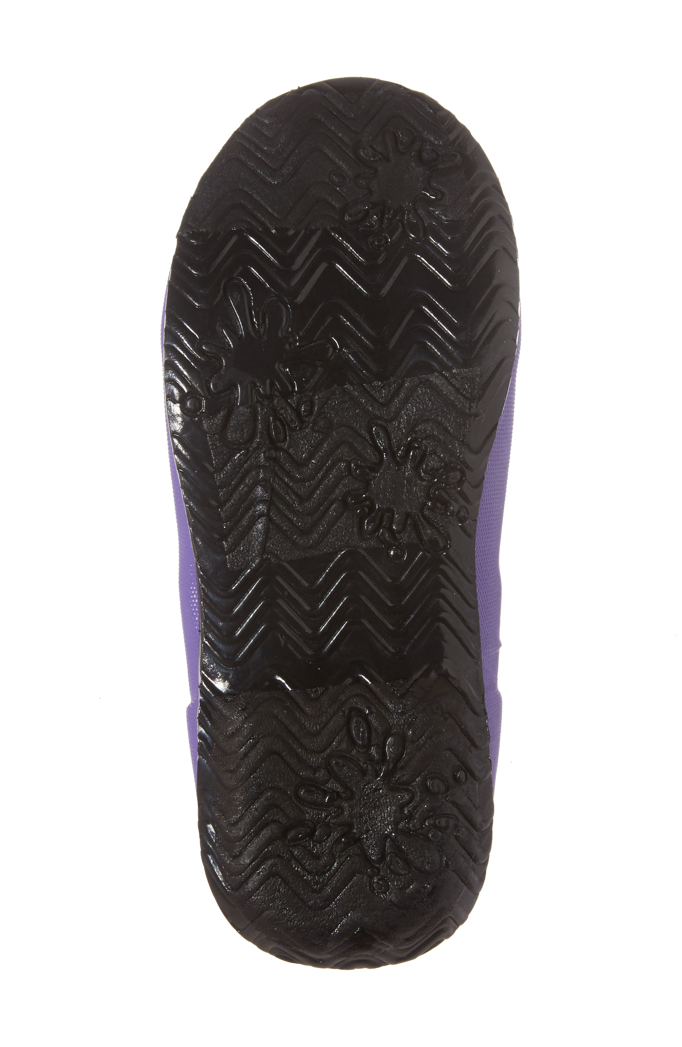 Wildflowers Rubber Rain Boot,                             Alternate thumbnail 6, color,                             Violet Multi
