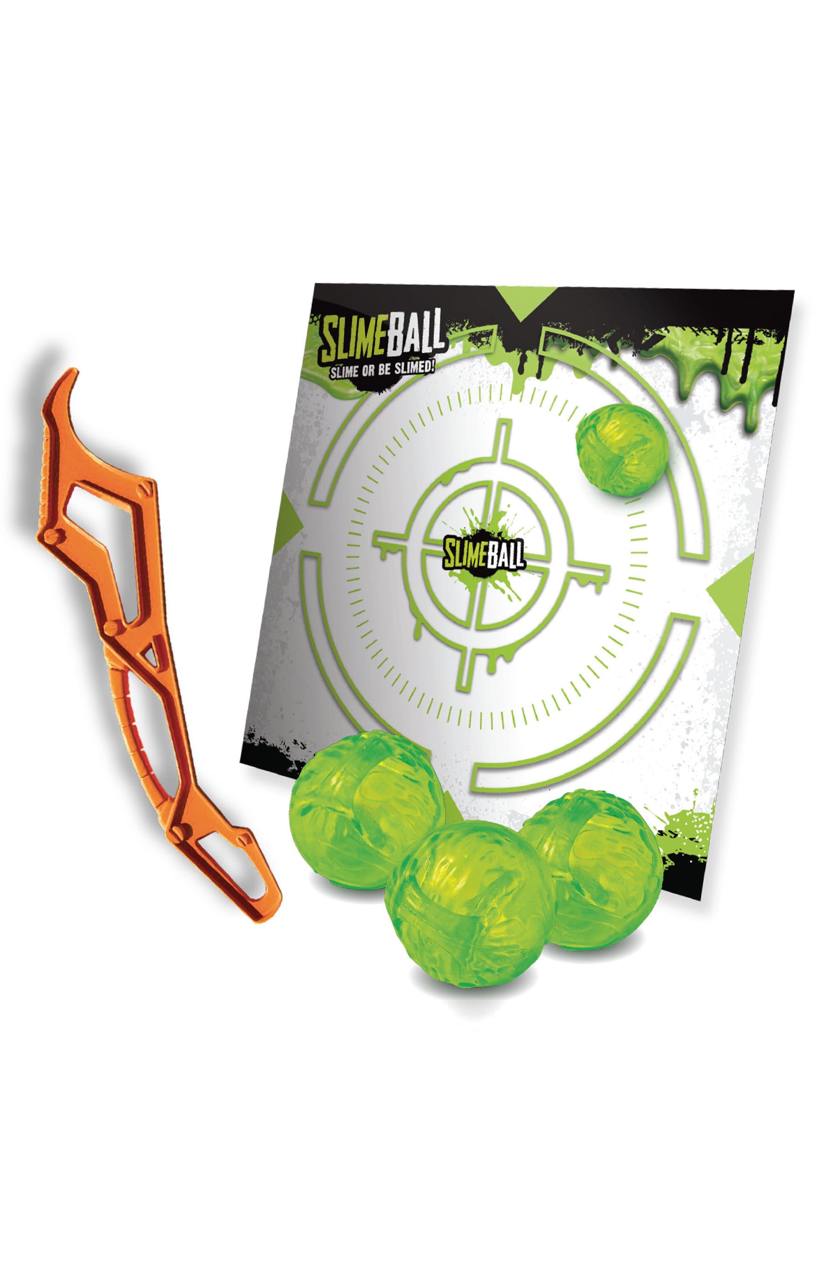 Slimeball Splat Game,                         Main,                         color, Green