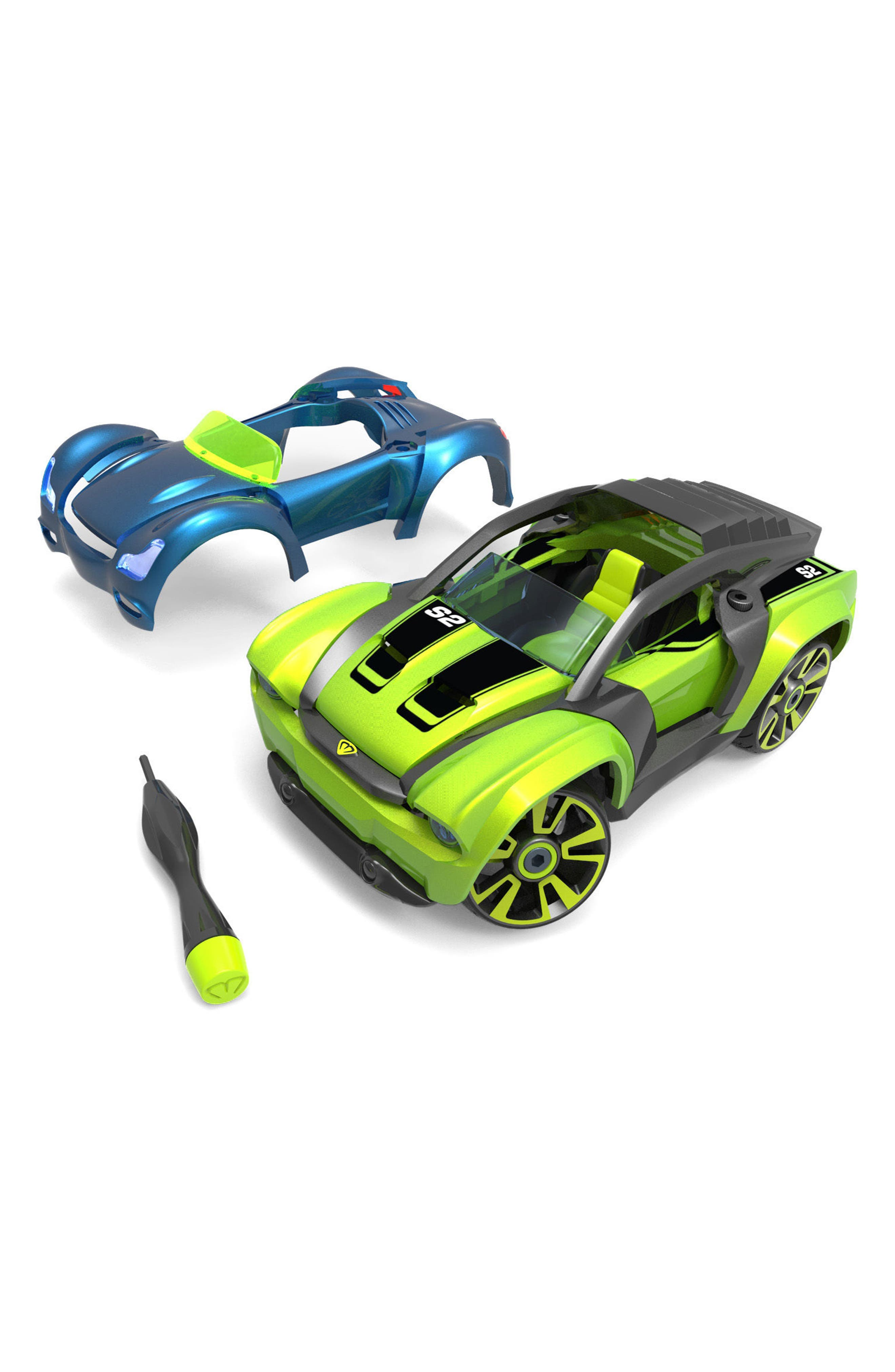 Delux S2 Muscle Car Kit,                         Main,                         color, Green