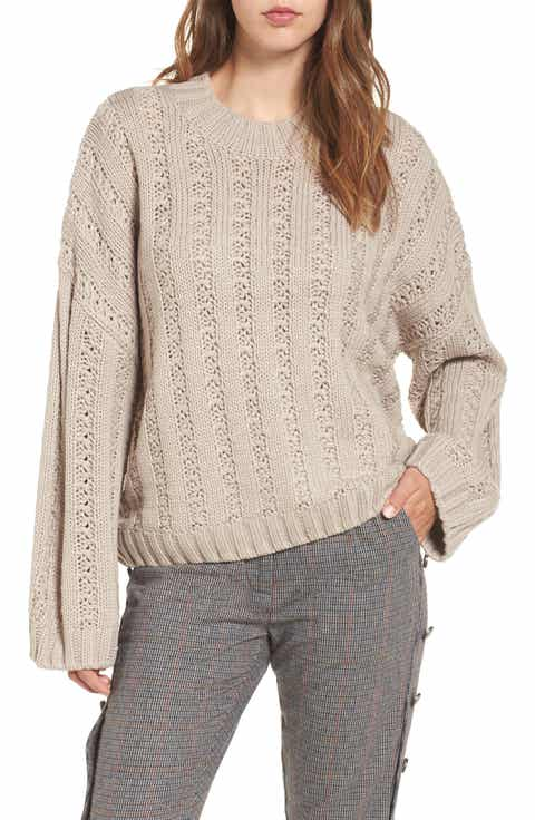 chunky knit sweater | Nordstrom