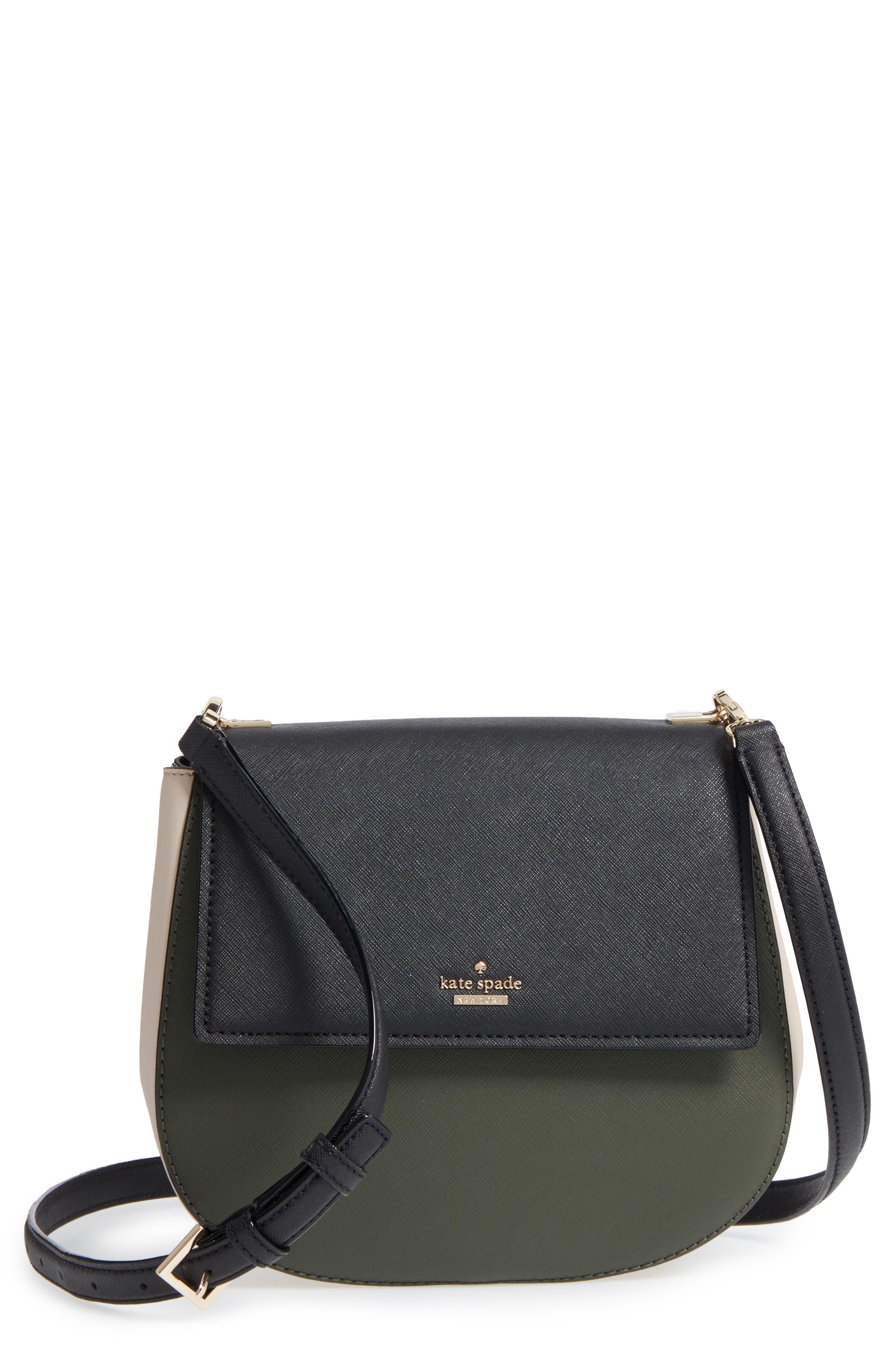 kate spade new york cameron street - byrdie leather crossbody bag