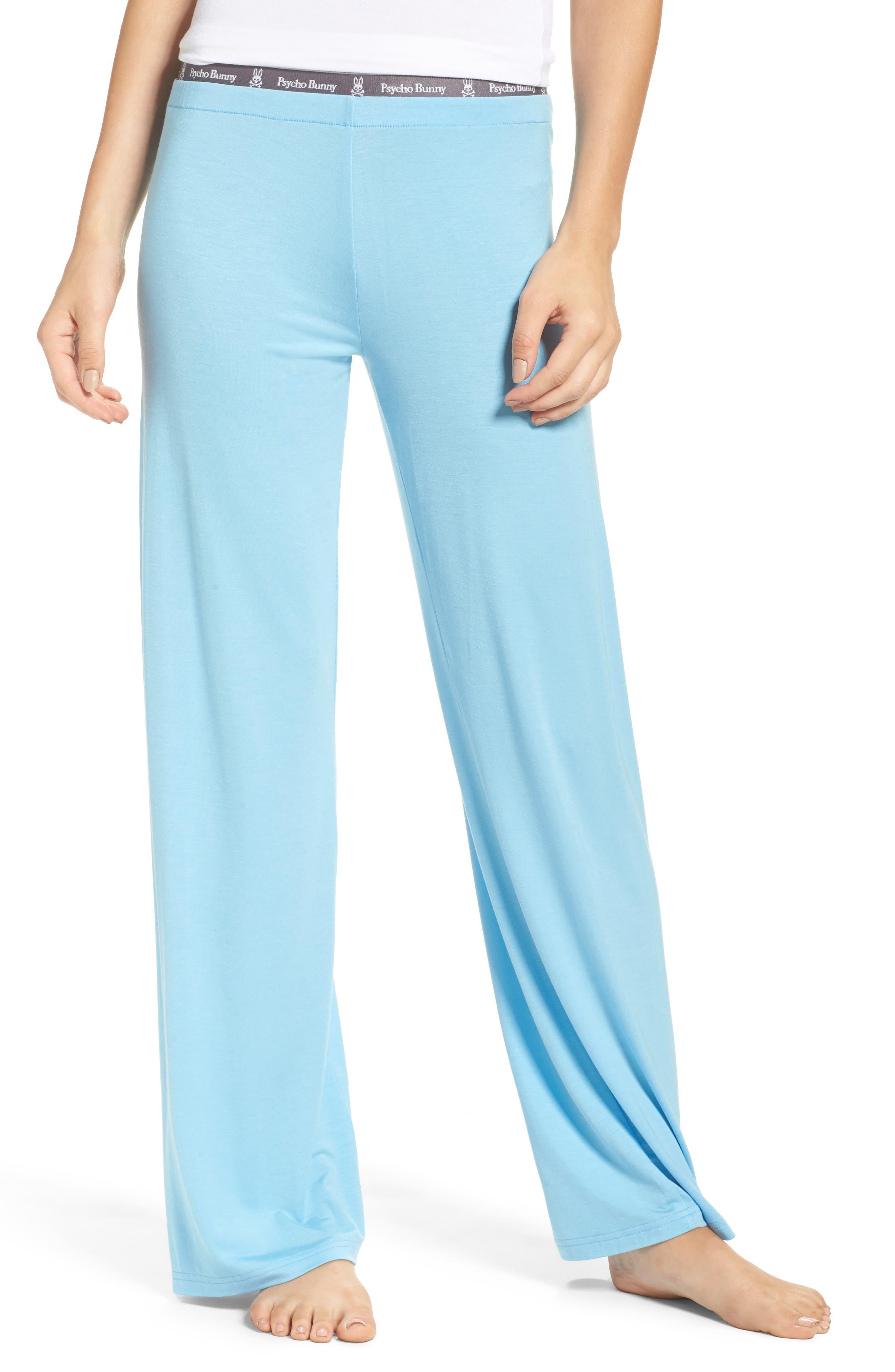 Luxe Jersey Pants,                         Main,                         color, Carolina