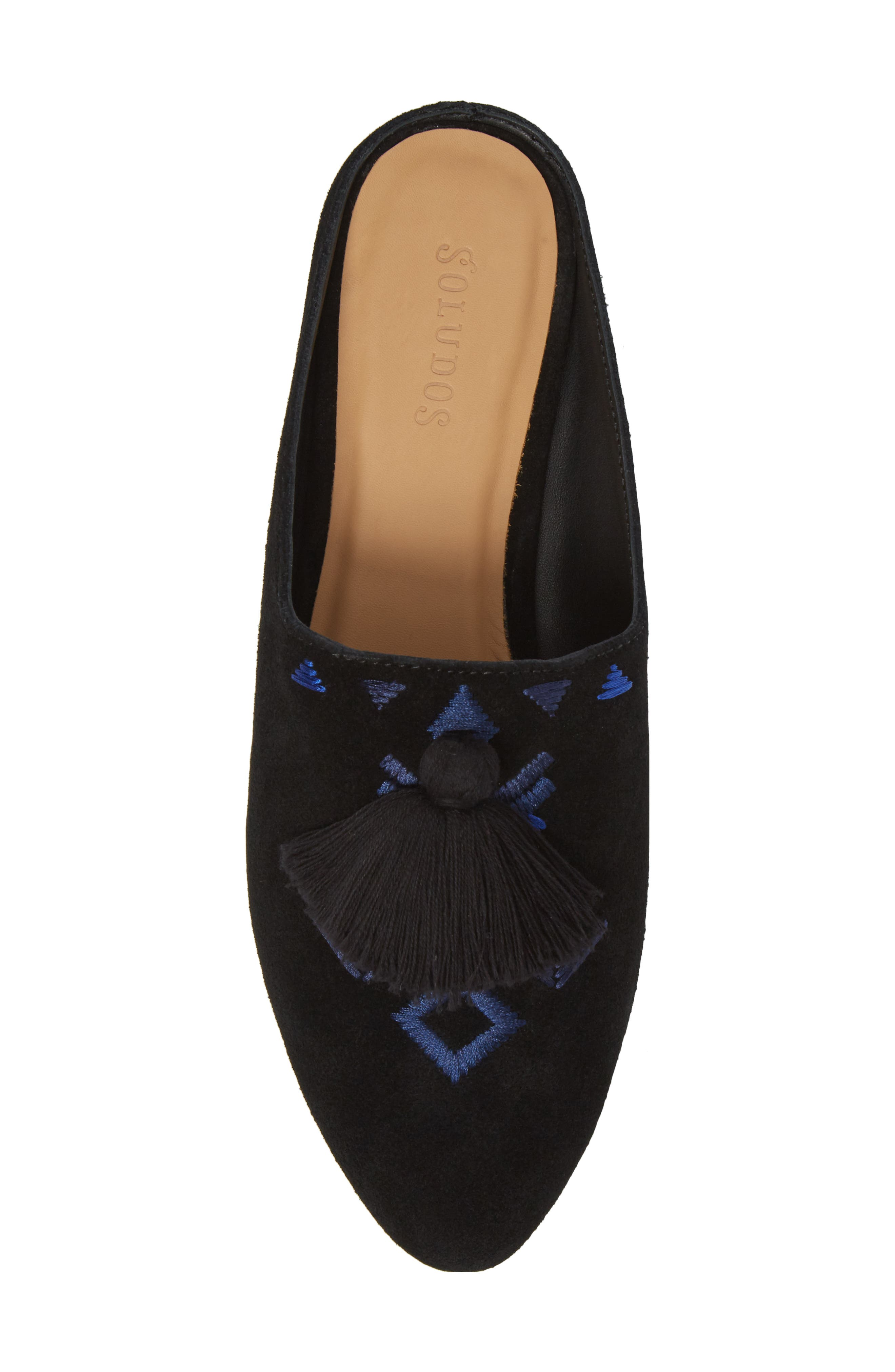 Alternate Image 5  - Soludos Palazzo Loafer Mule (Women)