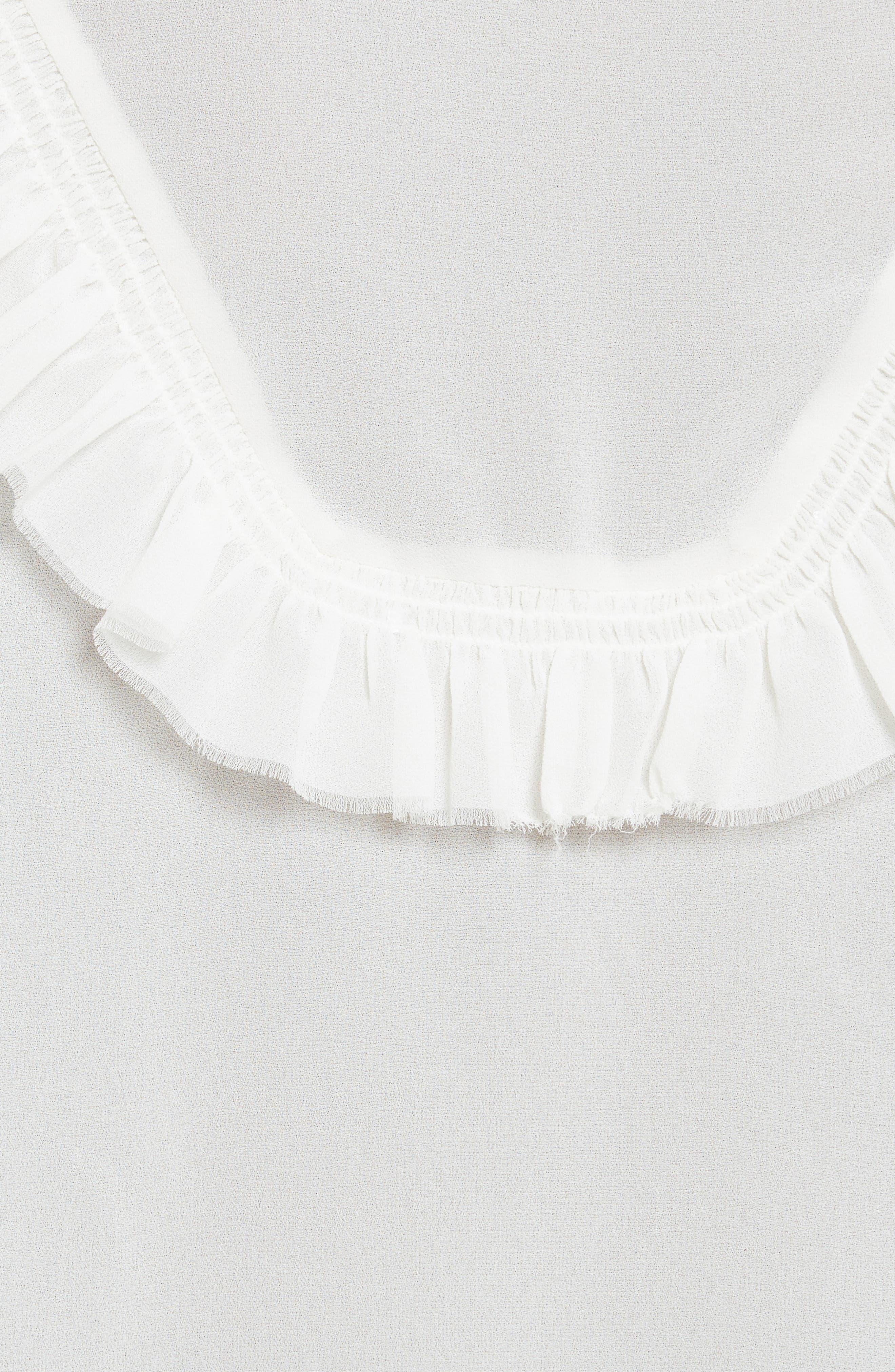 Alternate Image 5  - The Kooples Pleated Ruffle Shirt
