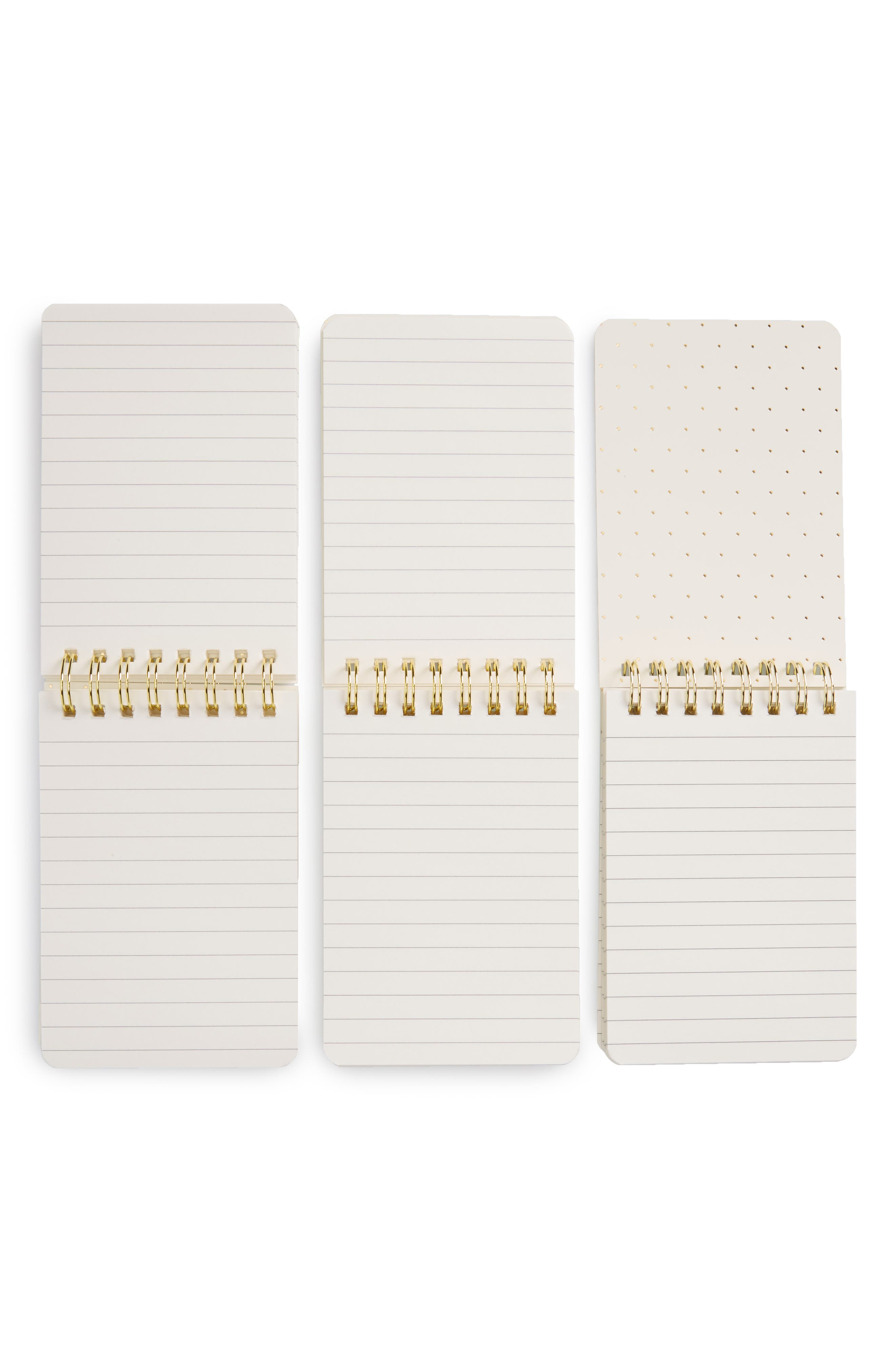 set of 3 mini spiral notepads,                             Alternate thumbnail 2, color,                             Photographic
