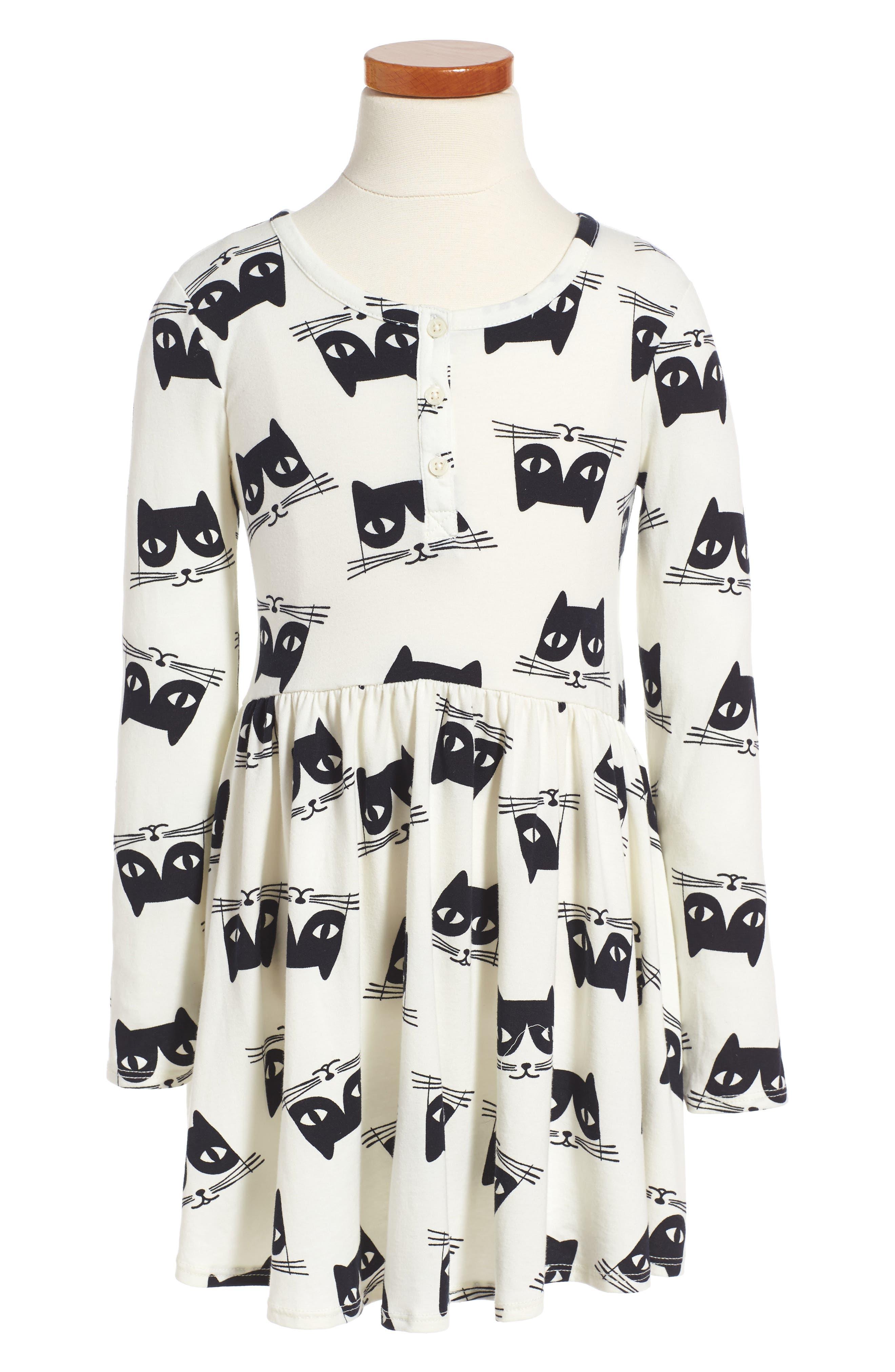 TUCKER + TATE Print Knit Dress