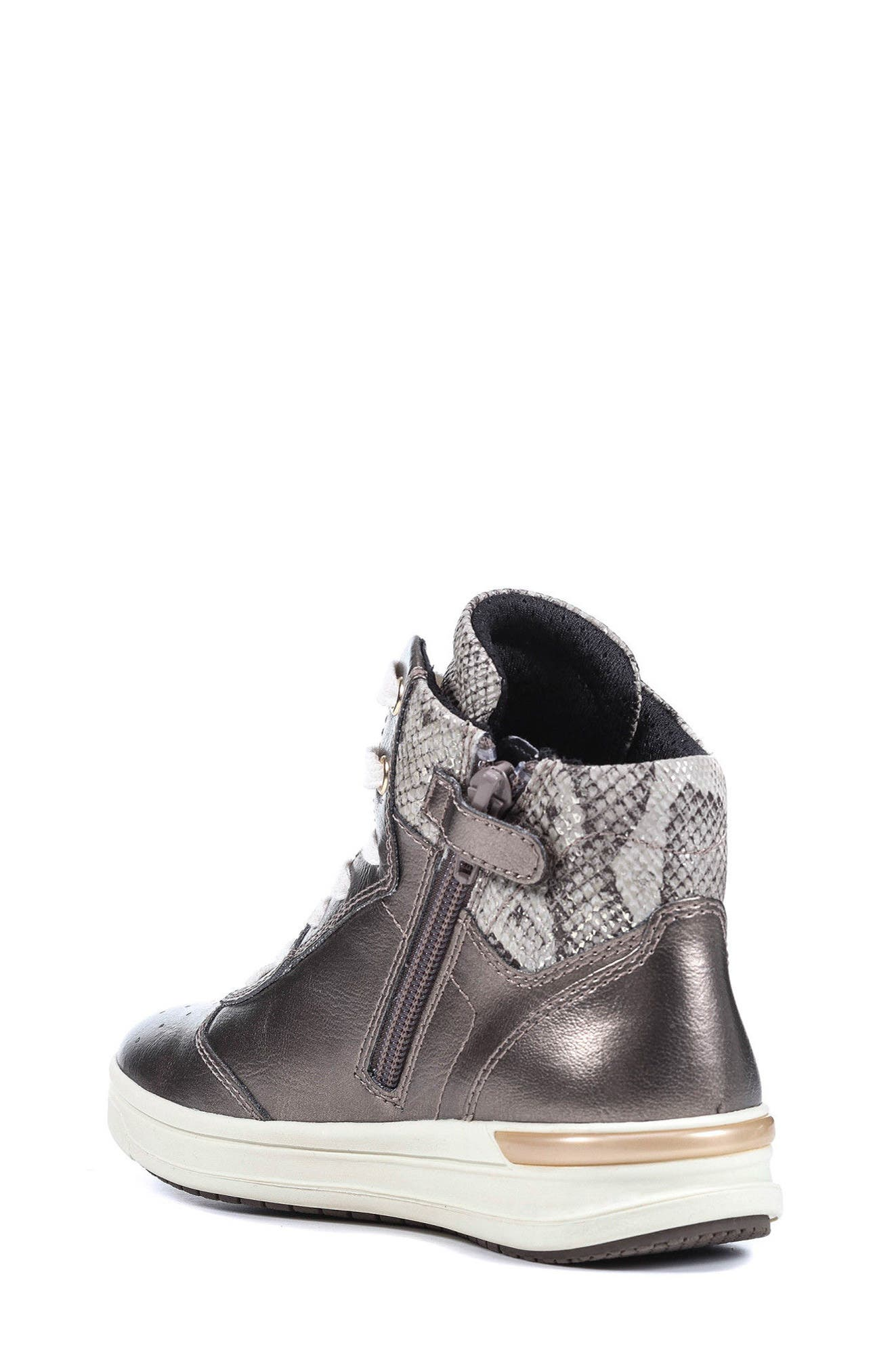 Alternate Image 2  - Geox Cave Up Girl High Top Sneaker (Toddler, Little Kid & Big Kid)