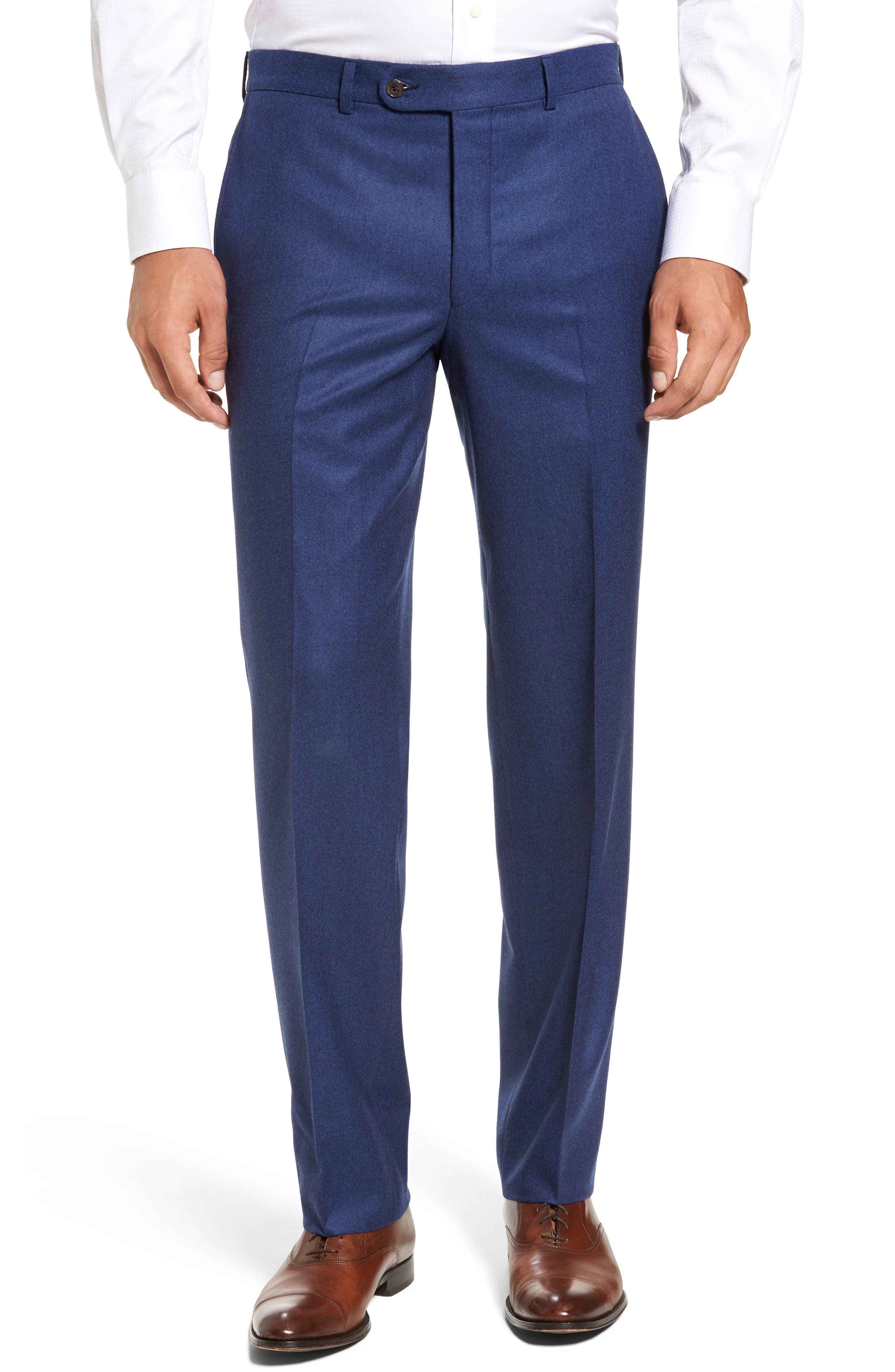 Ryan Classic Fit Solid Wool Suit,                             Alternate thumbnail 6, color,                             Blue