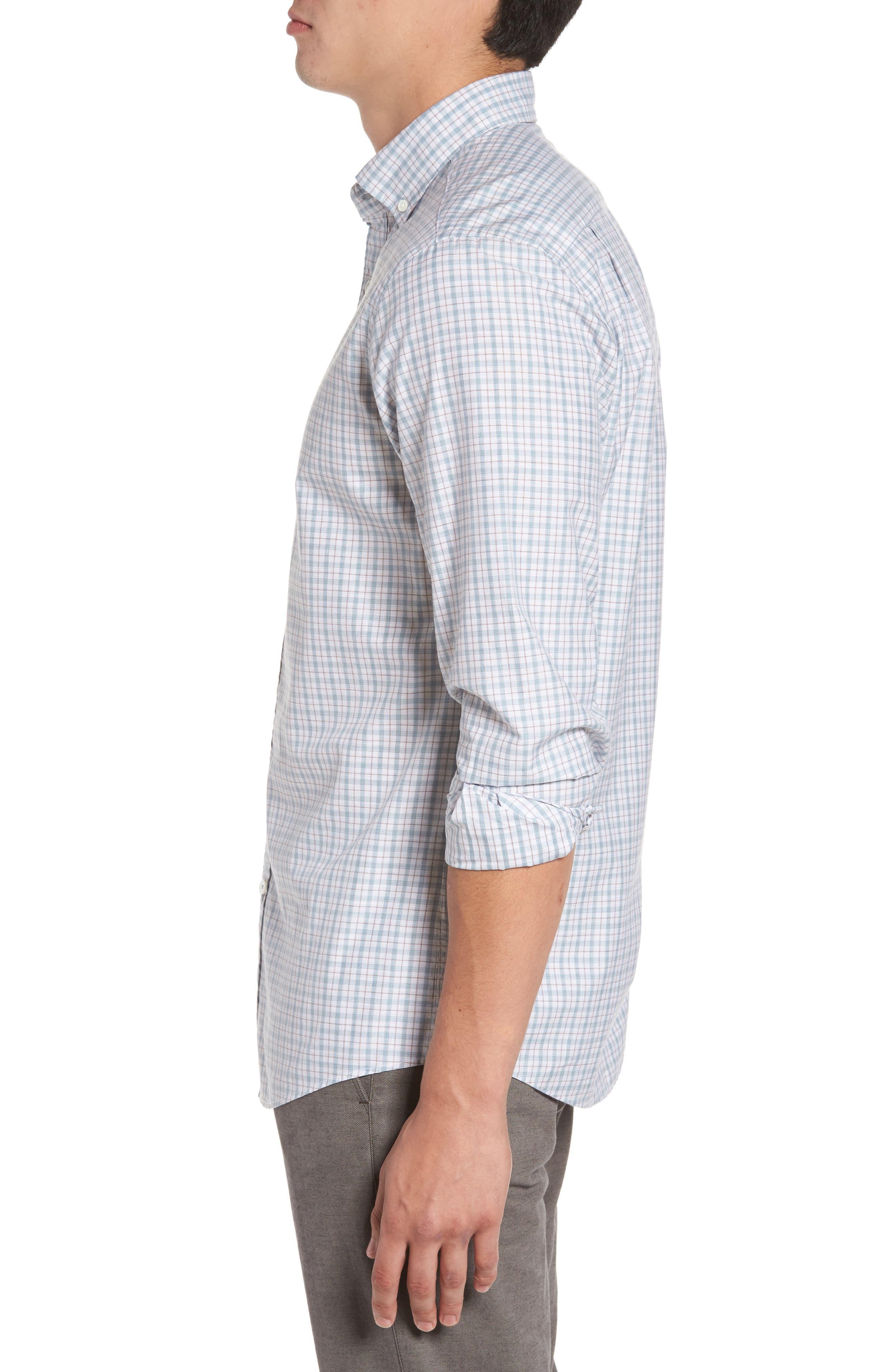 Alternate Image 3  - Rodd & Gunn Carterton Sports Fit Plaid Sport Shirt