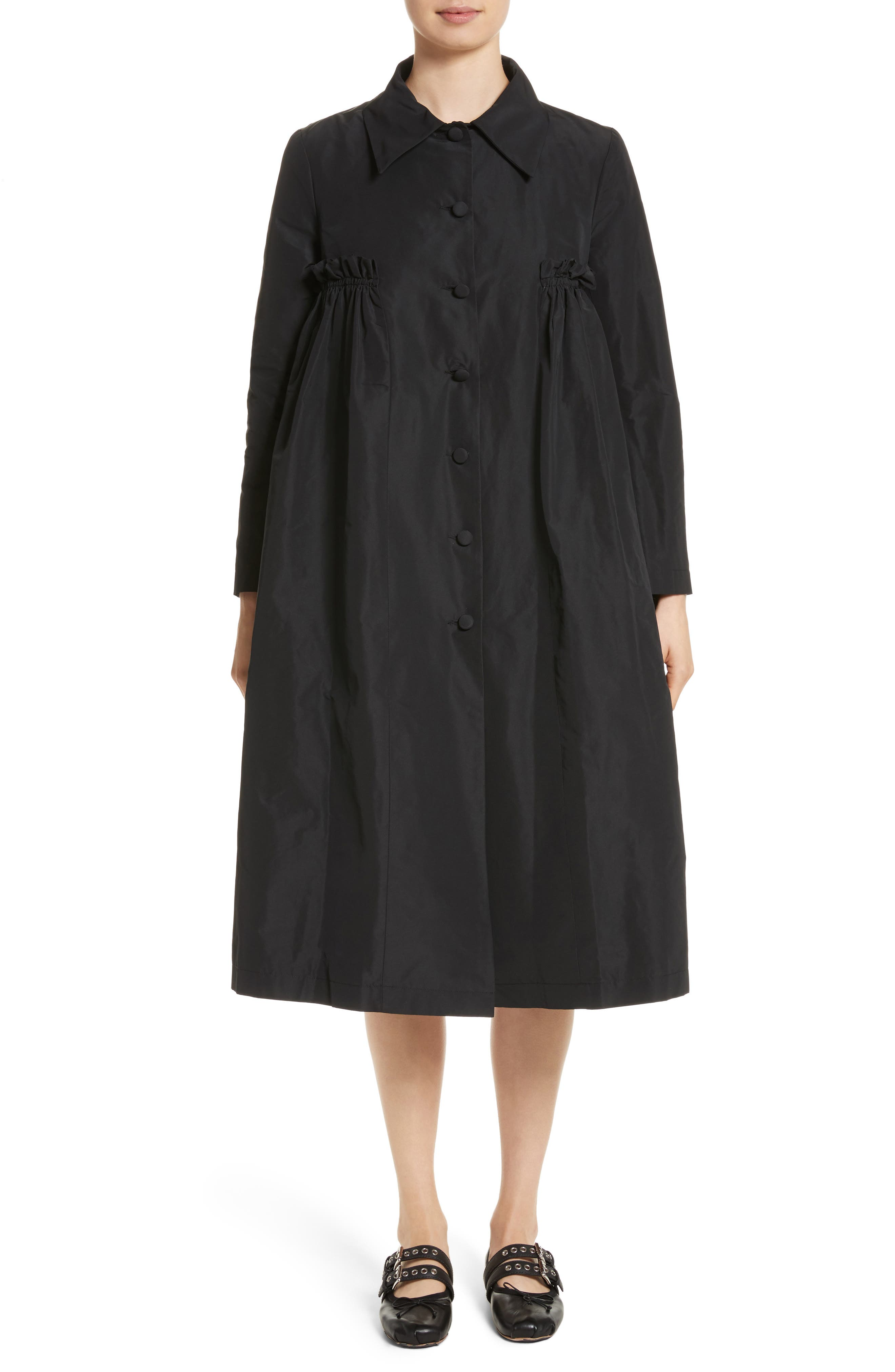 Alternate Image 1 Selected - Molly Goddard Pluto Taffeta Coat