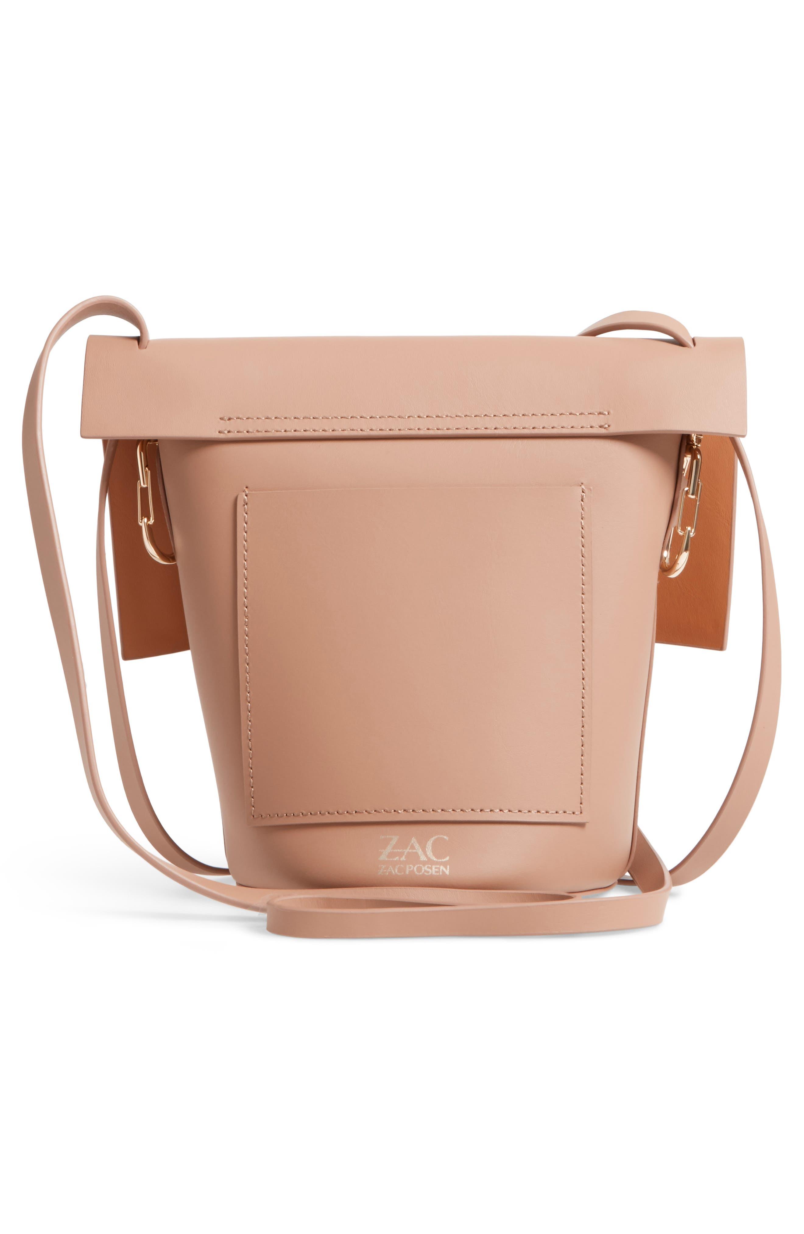Alternate Image 3  - ZAC Zac Posen Belay Leather Crossbody Bucket Bag
