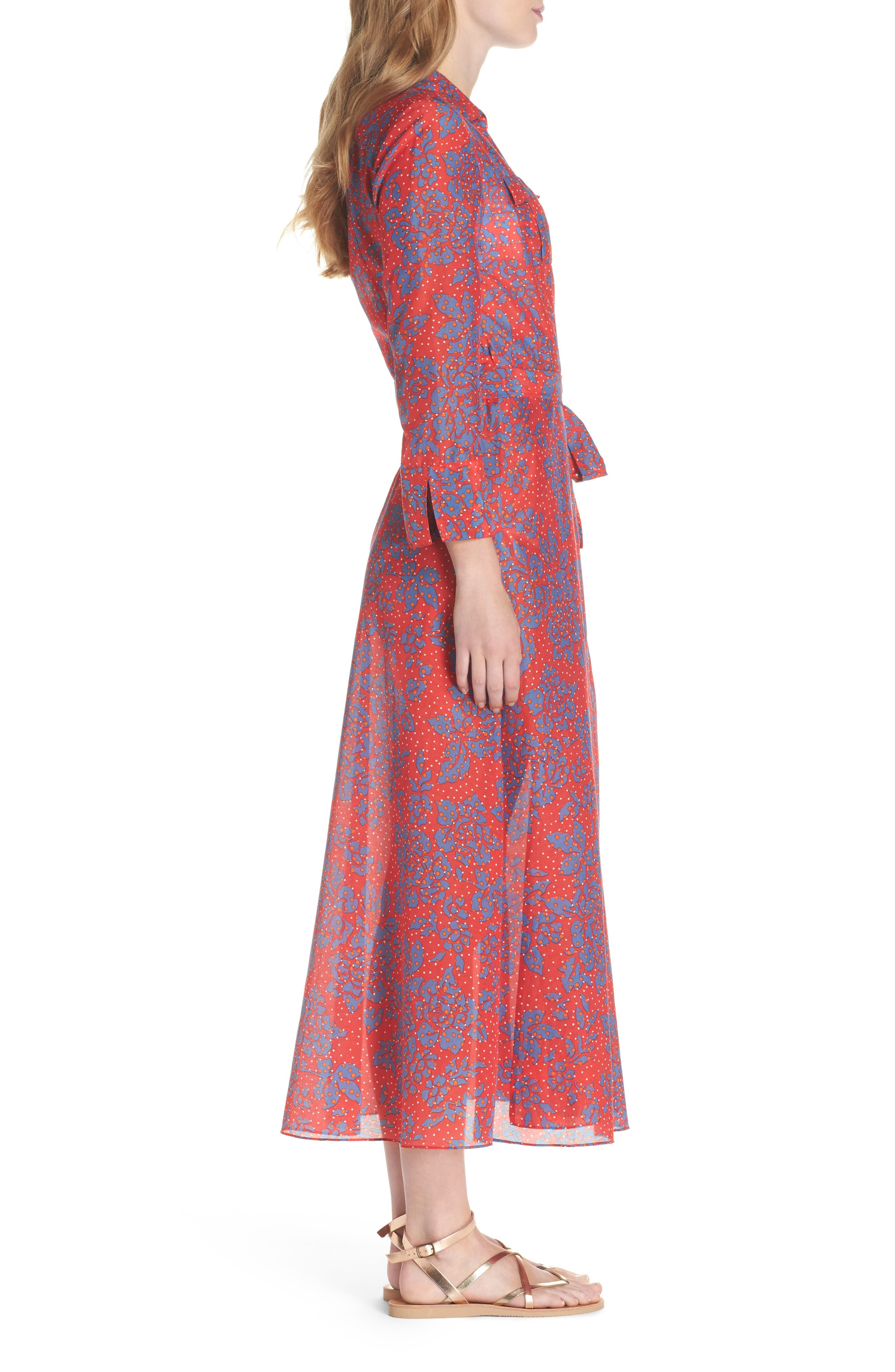 Alternate Image 3  - Diane von Furstenberg Long Cover-Up Wrap Dress