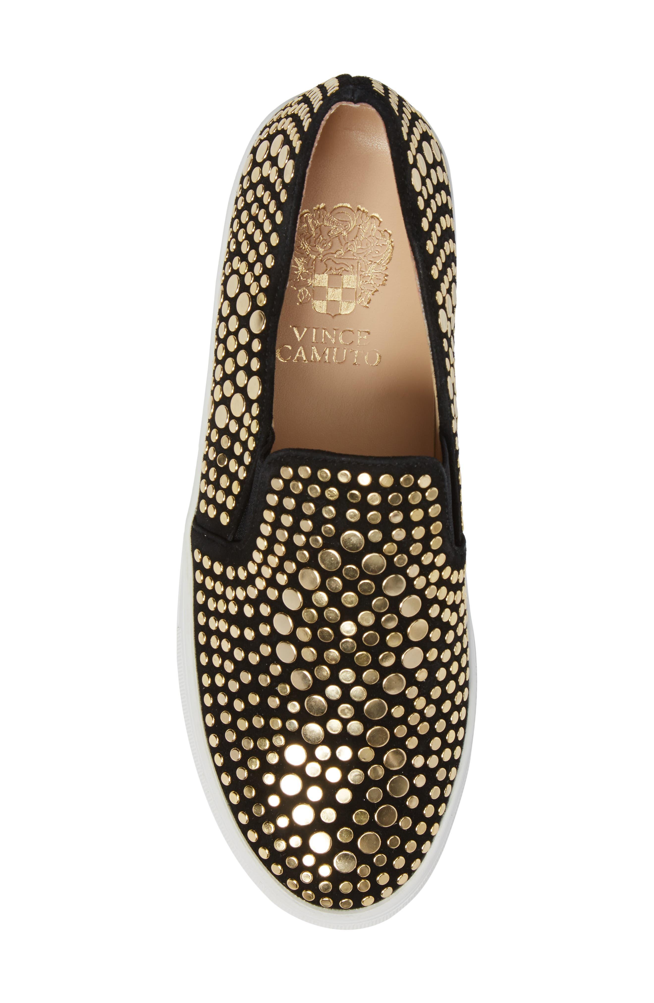 Alternate Image 5  - Vince Camuto Kindra Stud Slip-On Sneaker (Women)