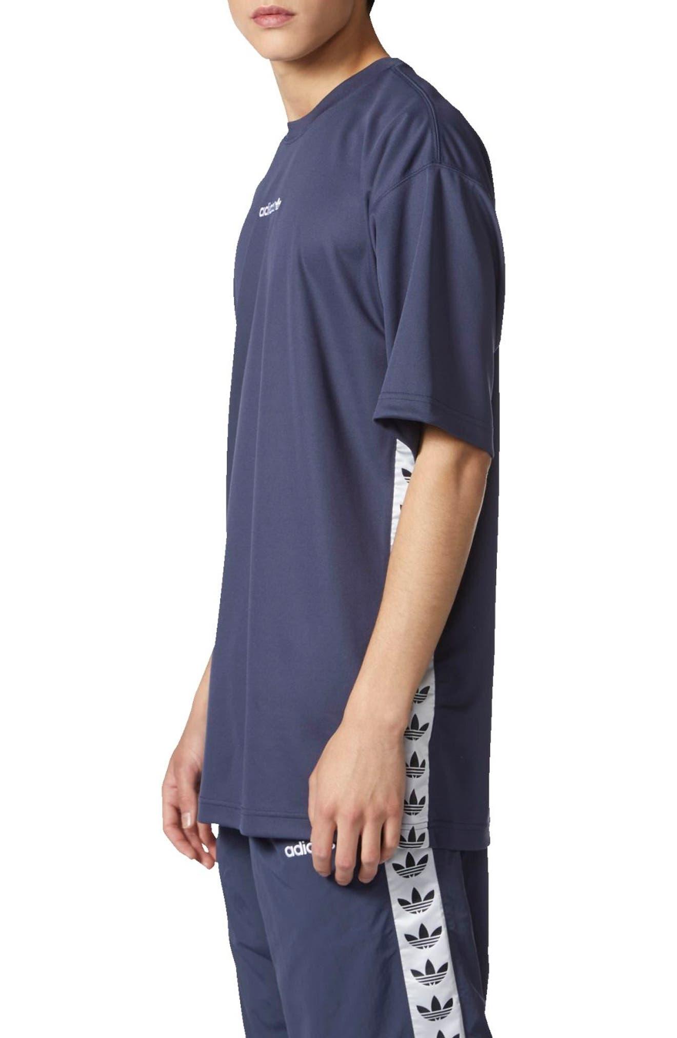 TNT Tape T-Shirt,                             Alternate thumbnail 3, color,                             Trace Blue/ White