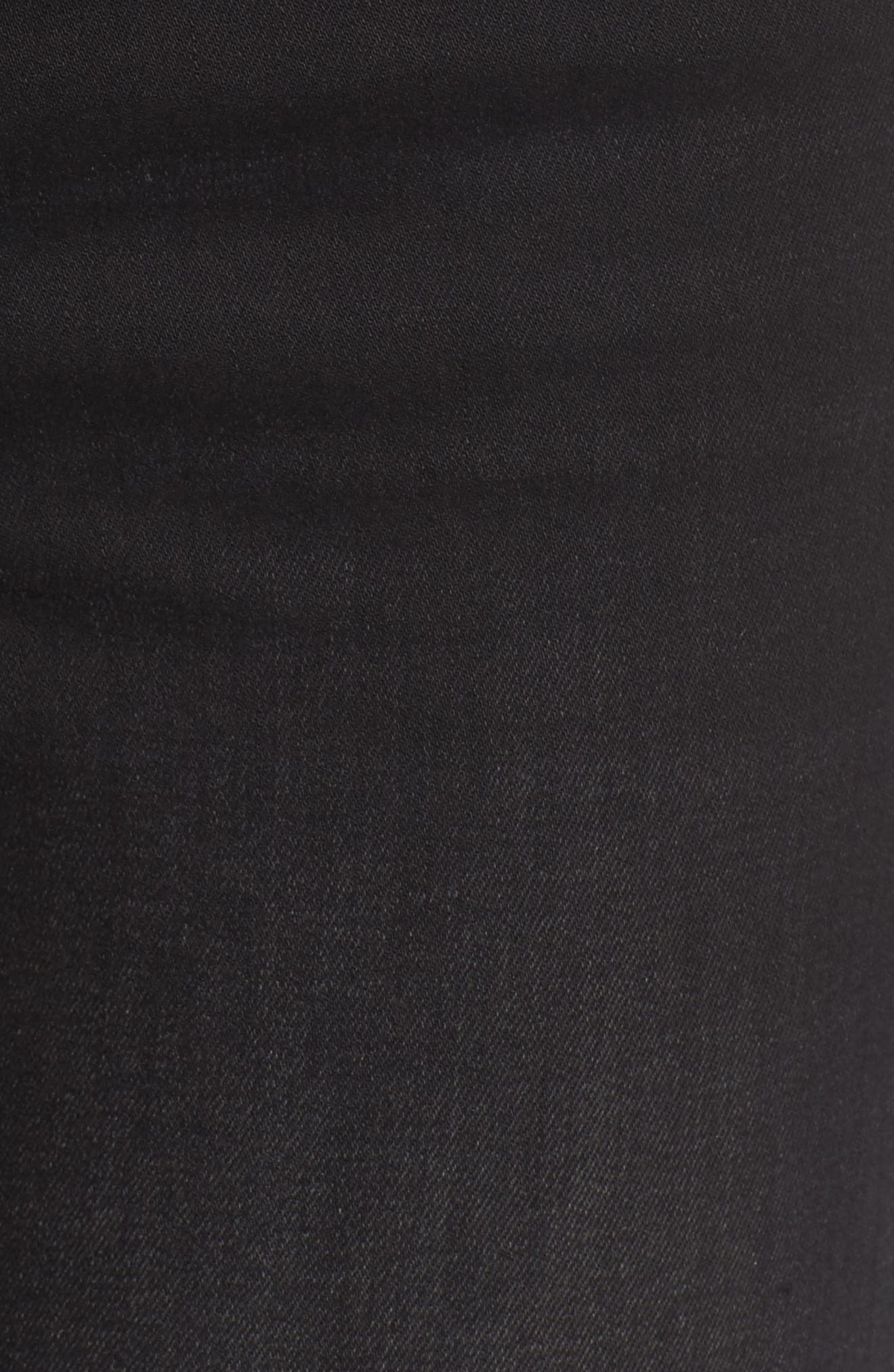 Alternate Image 5  - Vigoss Lace-Up Distressed Skinny Jeans