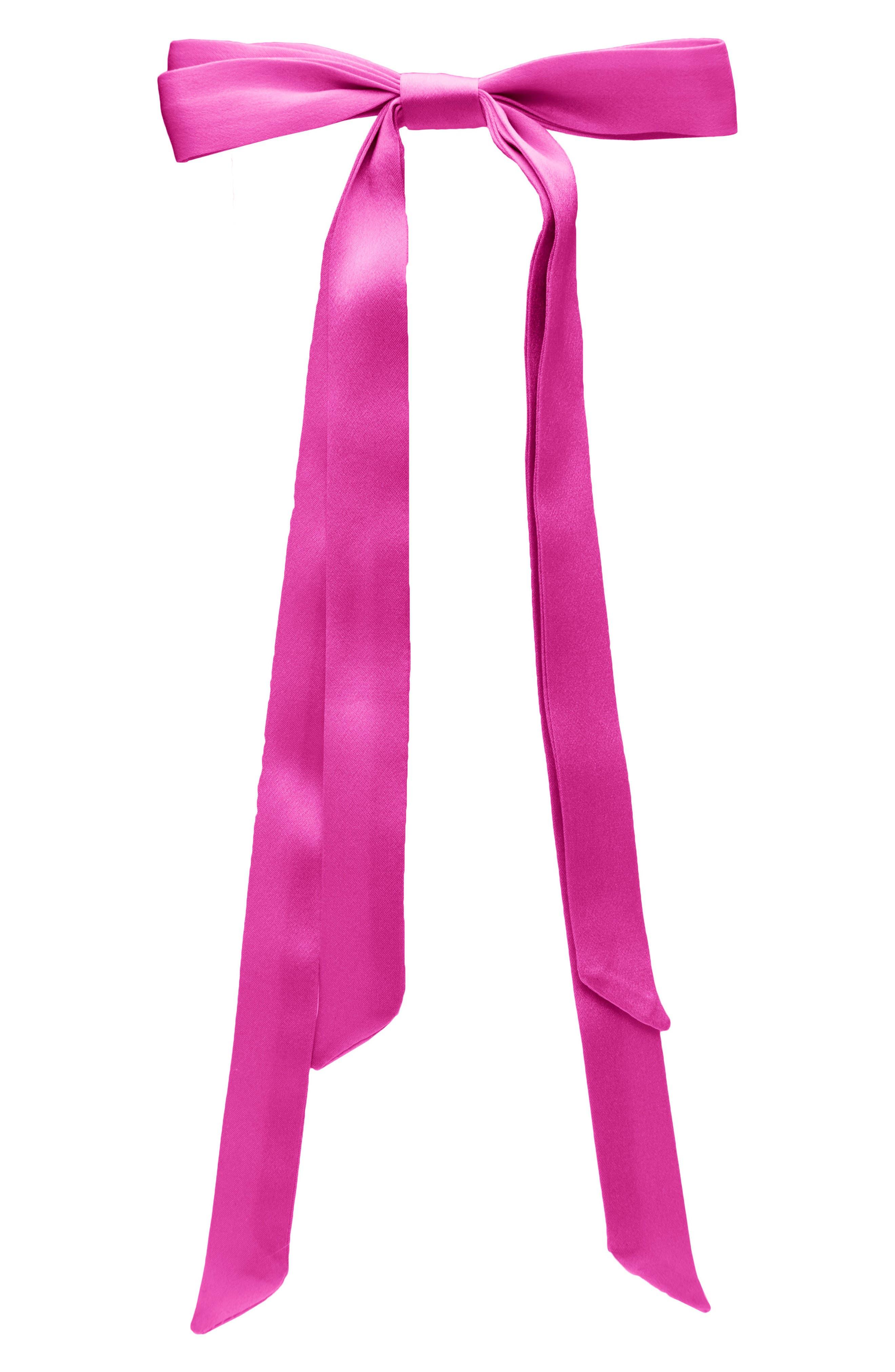 Main Image - L. Erickson Long Tail Ribbon Barrette