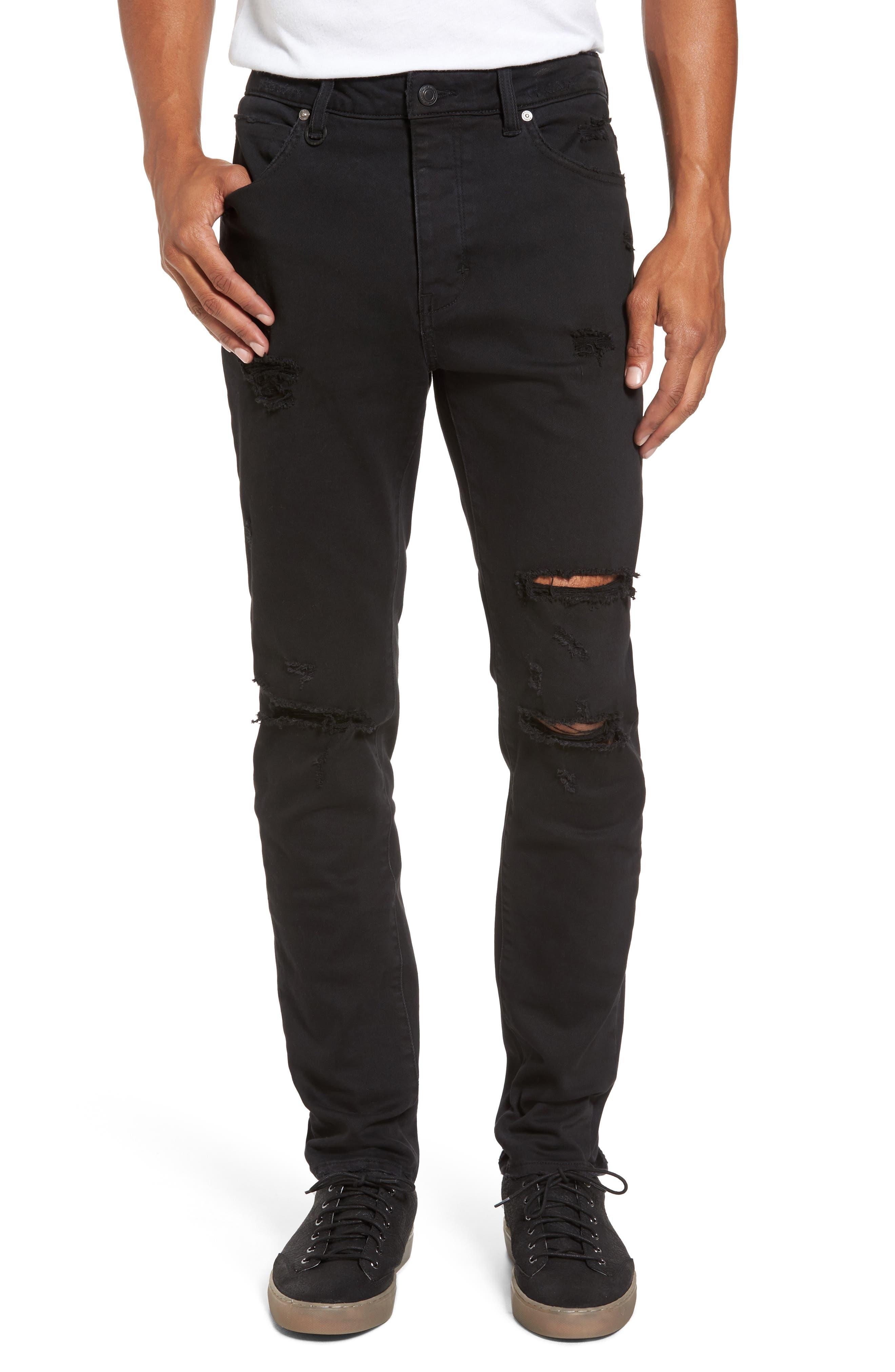 NEUW Ray Slouchy Slim Fit Jeans (Slayer)