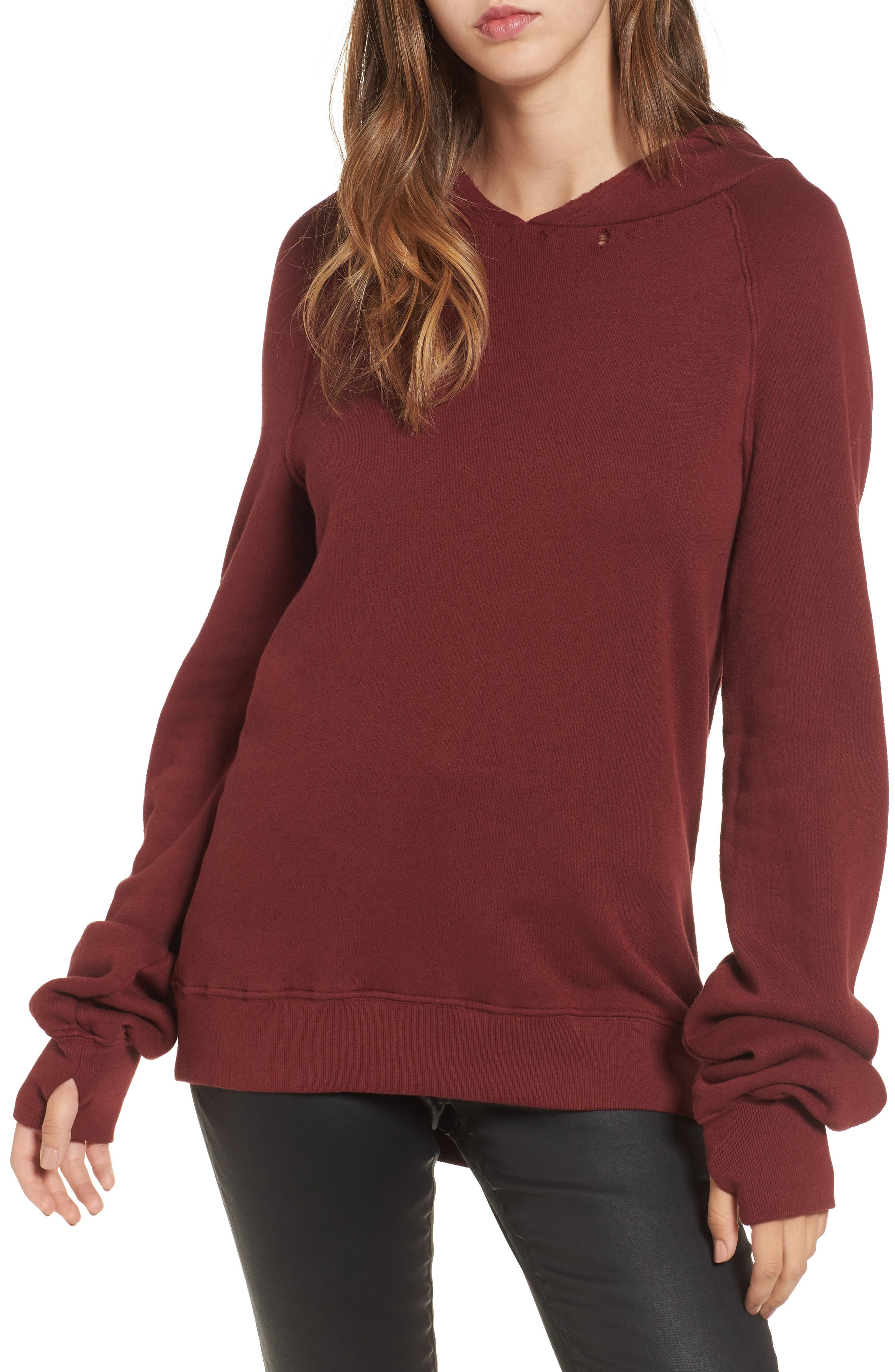Pam & Gela Distressed Sweatshirt