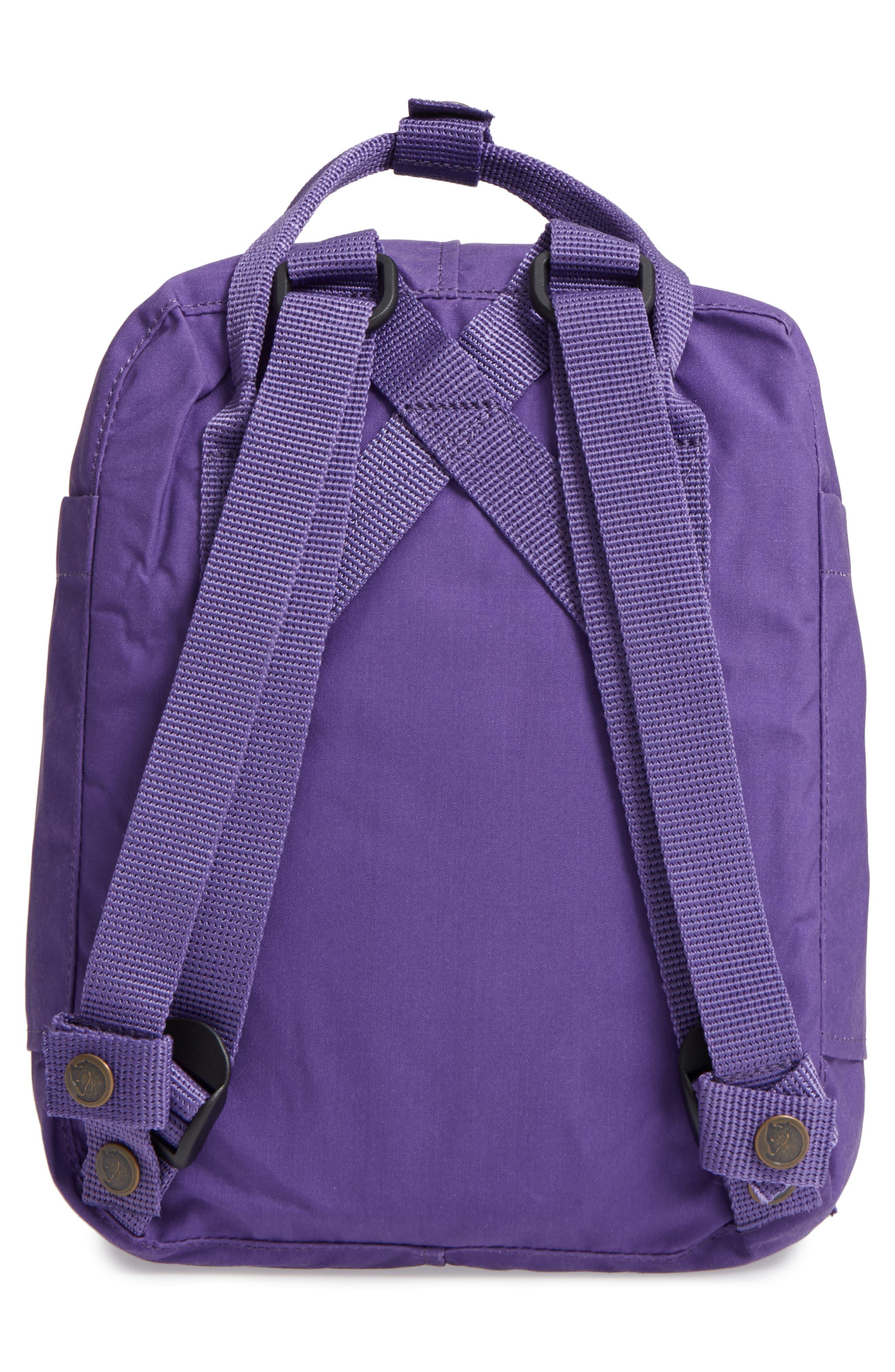 Arctic Fox Mini Kånken Backpack,                             Alternate thumbnail 2, color,                             Purple/Orchid