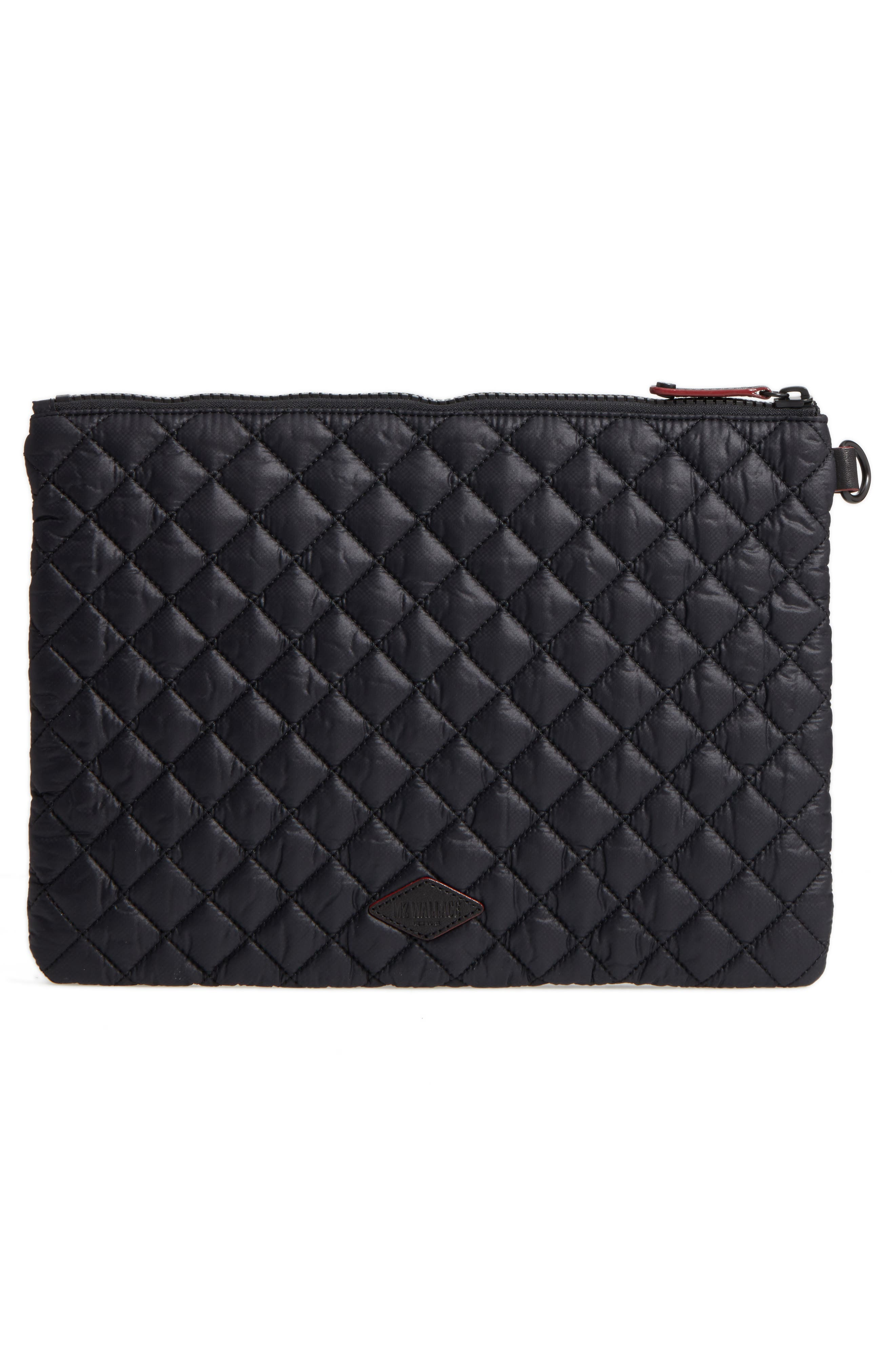 Alternate Image 3  - MZ Wallace Metro Quilted Oxford Nylon Zip Pouch