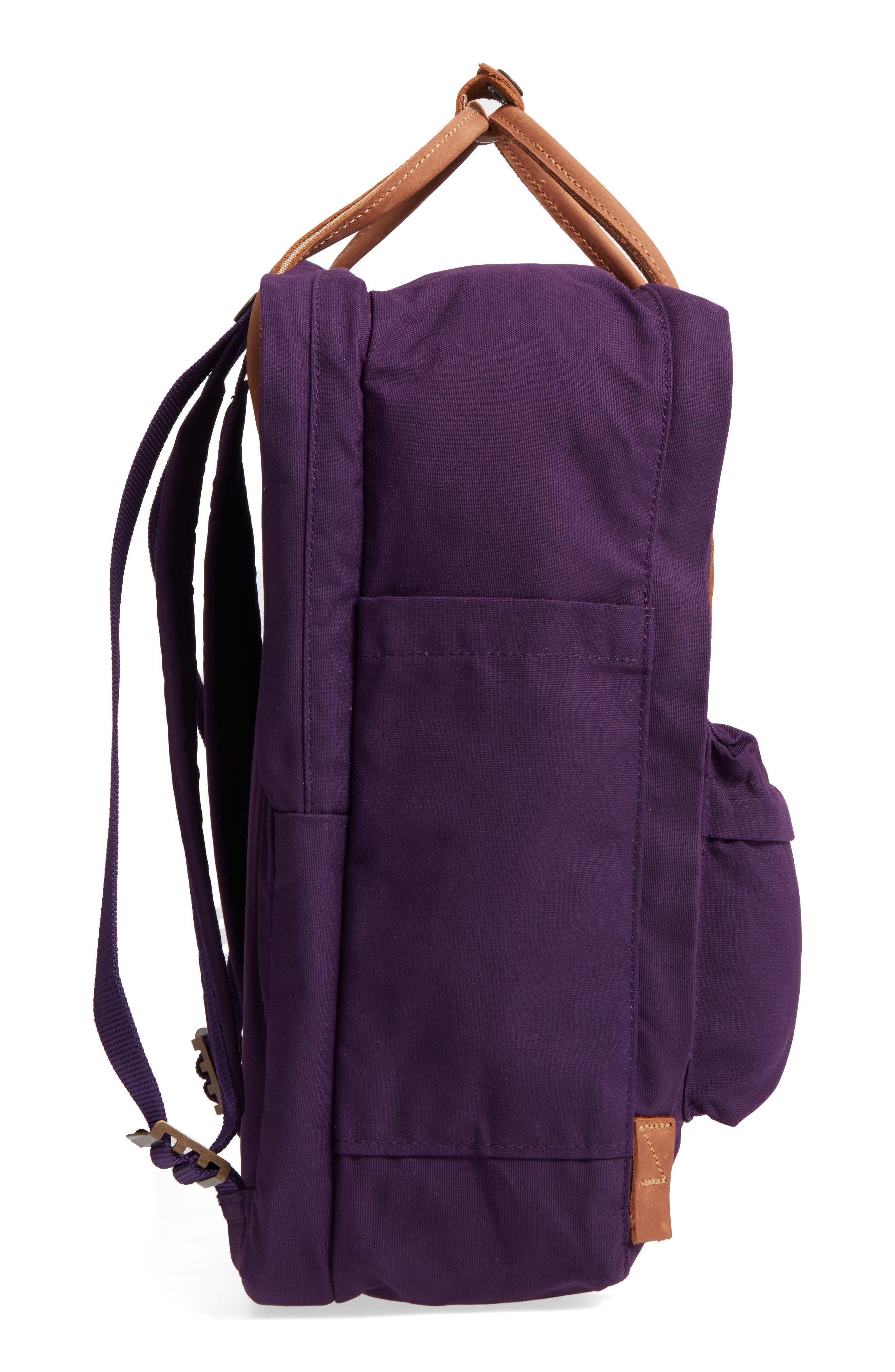 "Kånken No. 2 15"" Laptop Backpack,                             Alternate thumbnail 4, color,                             Alpine Purple"