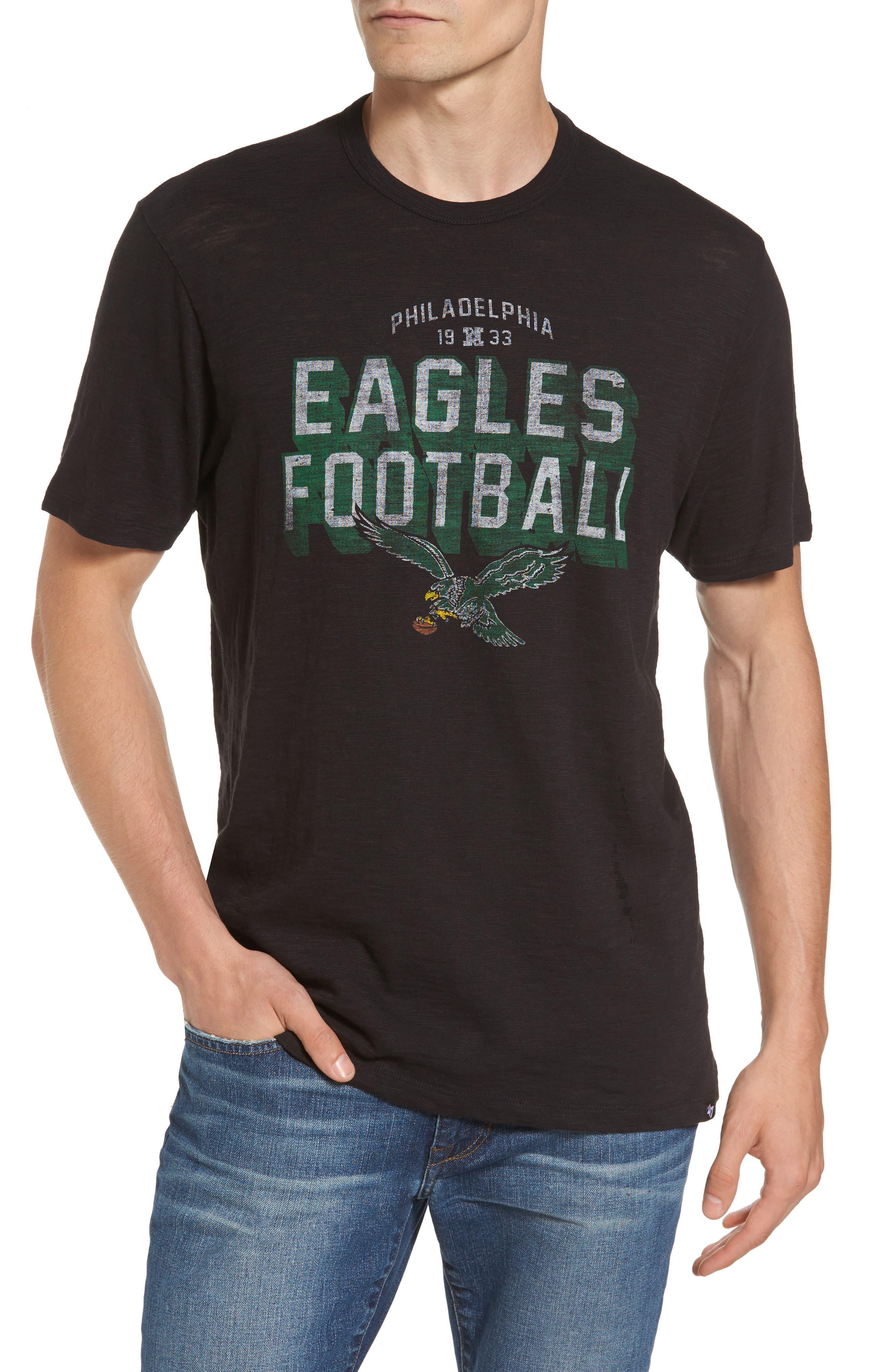 Philadelphia Eagles T-Shirt,                         Main,                         color, Black