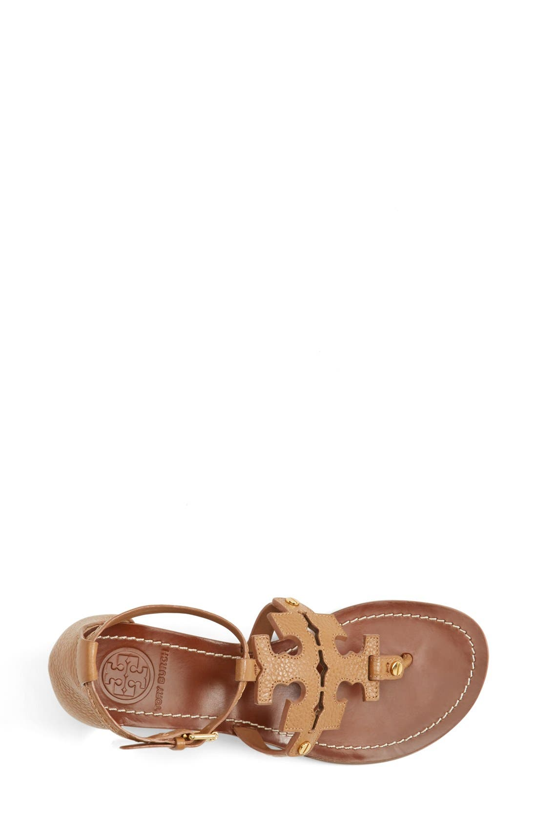 Alternate Image 3  - Tory Burch 'Chandler' Wedge Leather Sandal (Women)