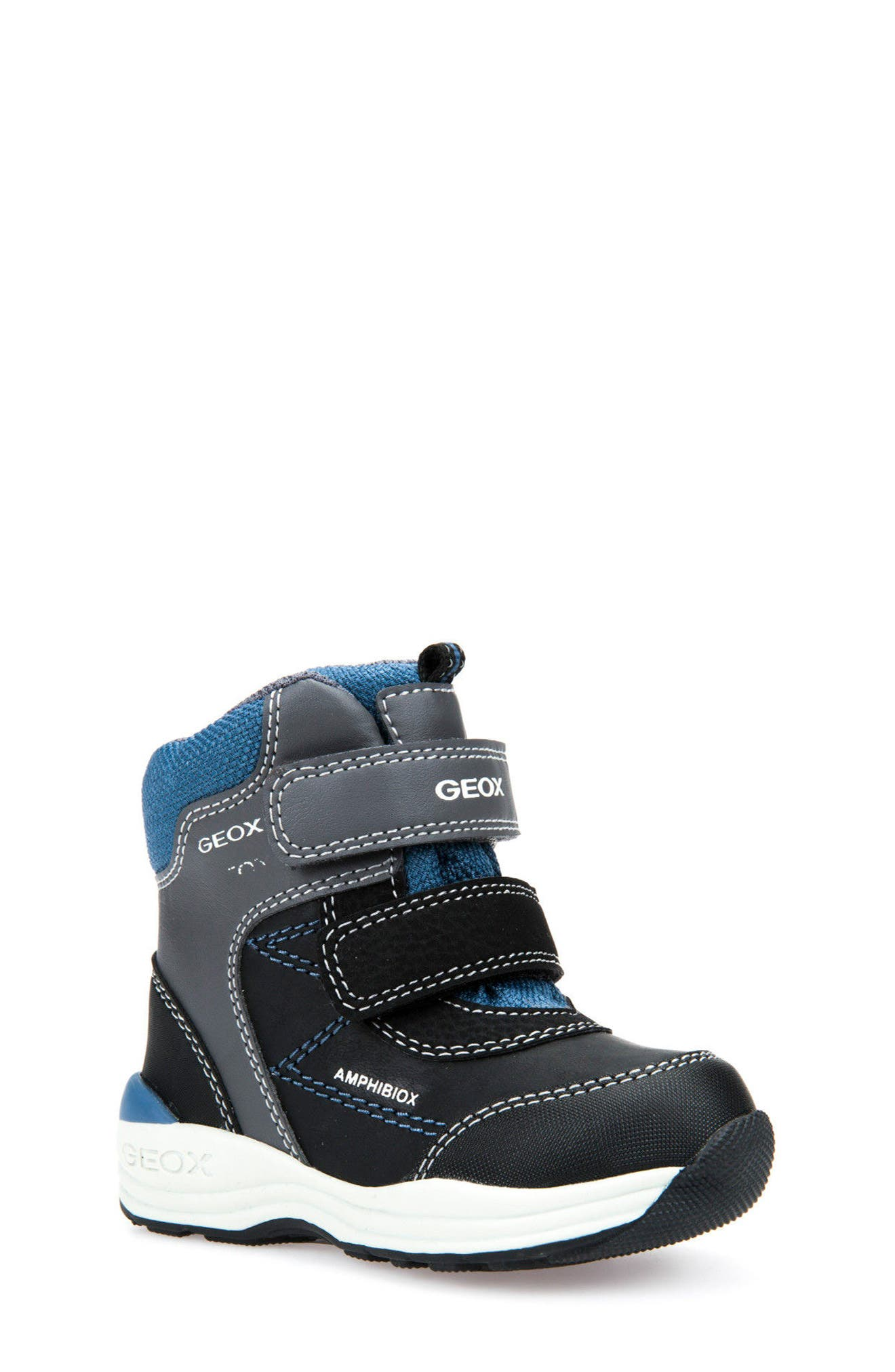 Gulp ABX Waterproof Boot,                         Main,                         color, Dark Grey/ Avio