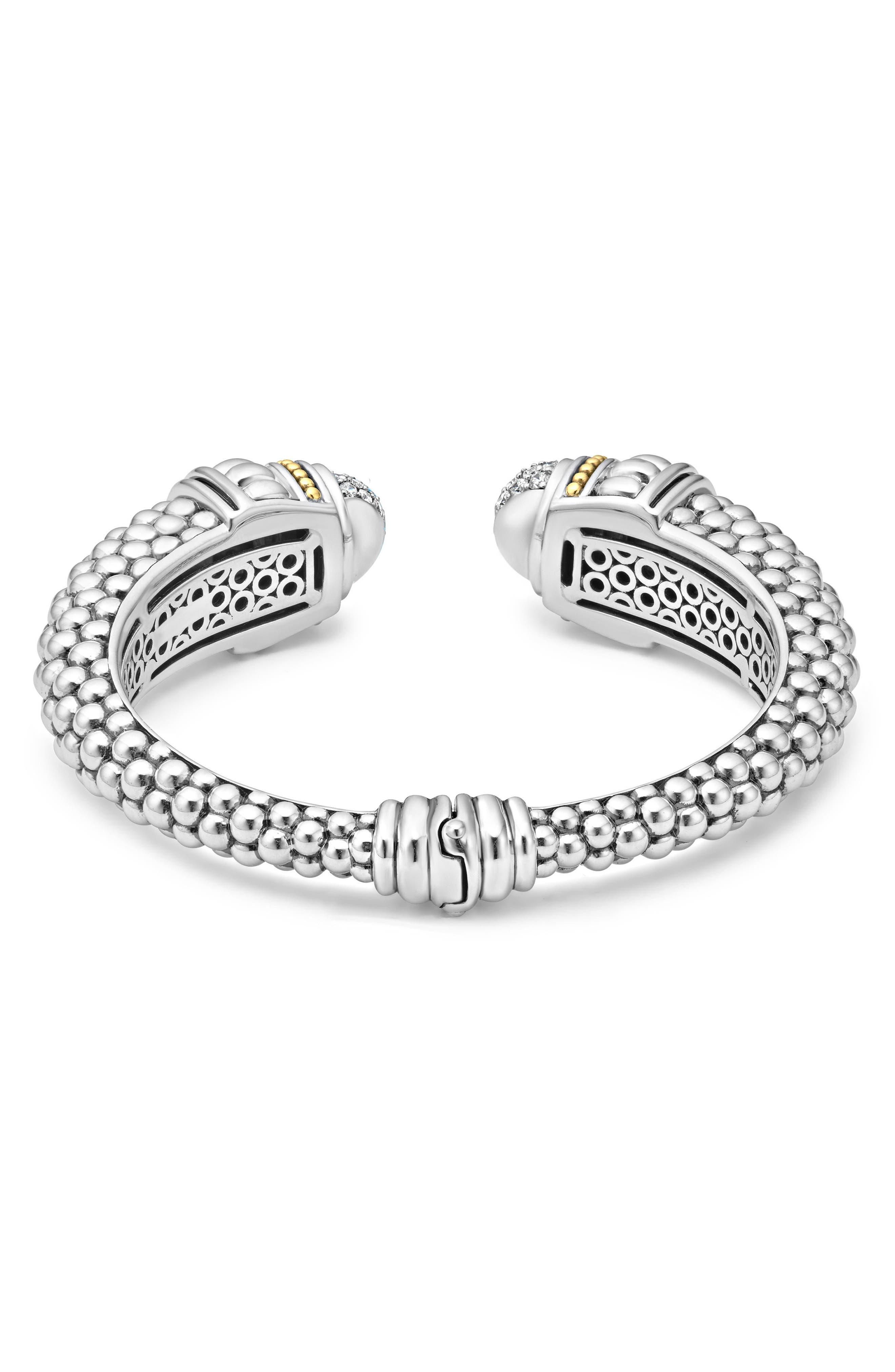 Alternate Image 2  - LAGOS Caviar Diamond Hinge Cuff