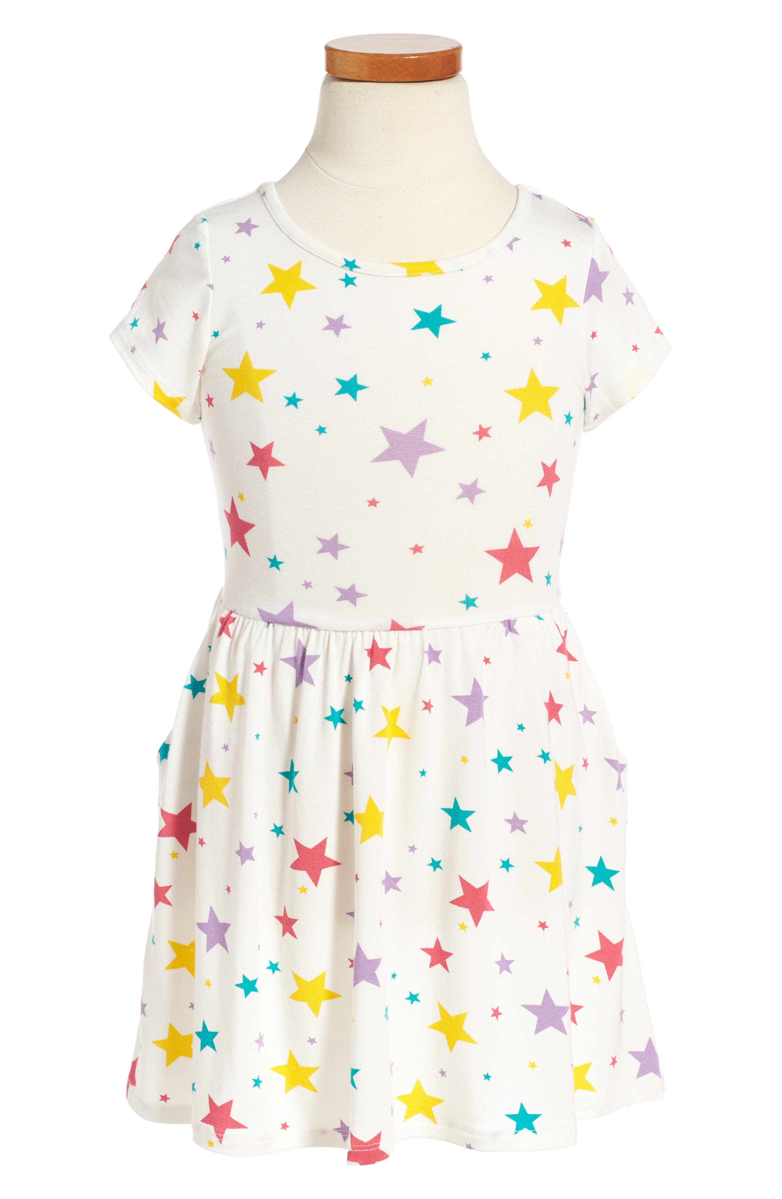 Main Image - Peek Candice Star Dress (Toddler Birls, Little Girls & Big Girls)