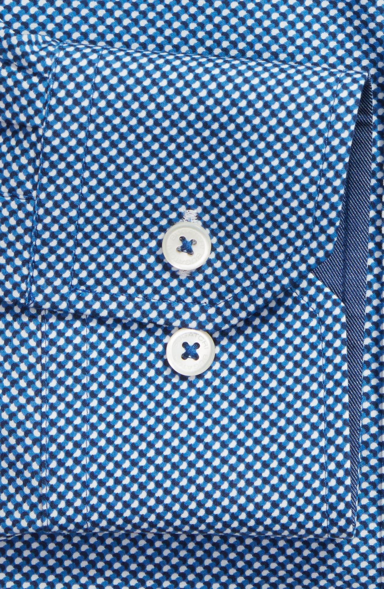 Alternate Image 2  - Bugatchi Trim Fit Print Dress Shirt