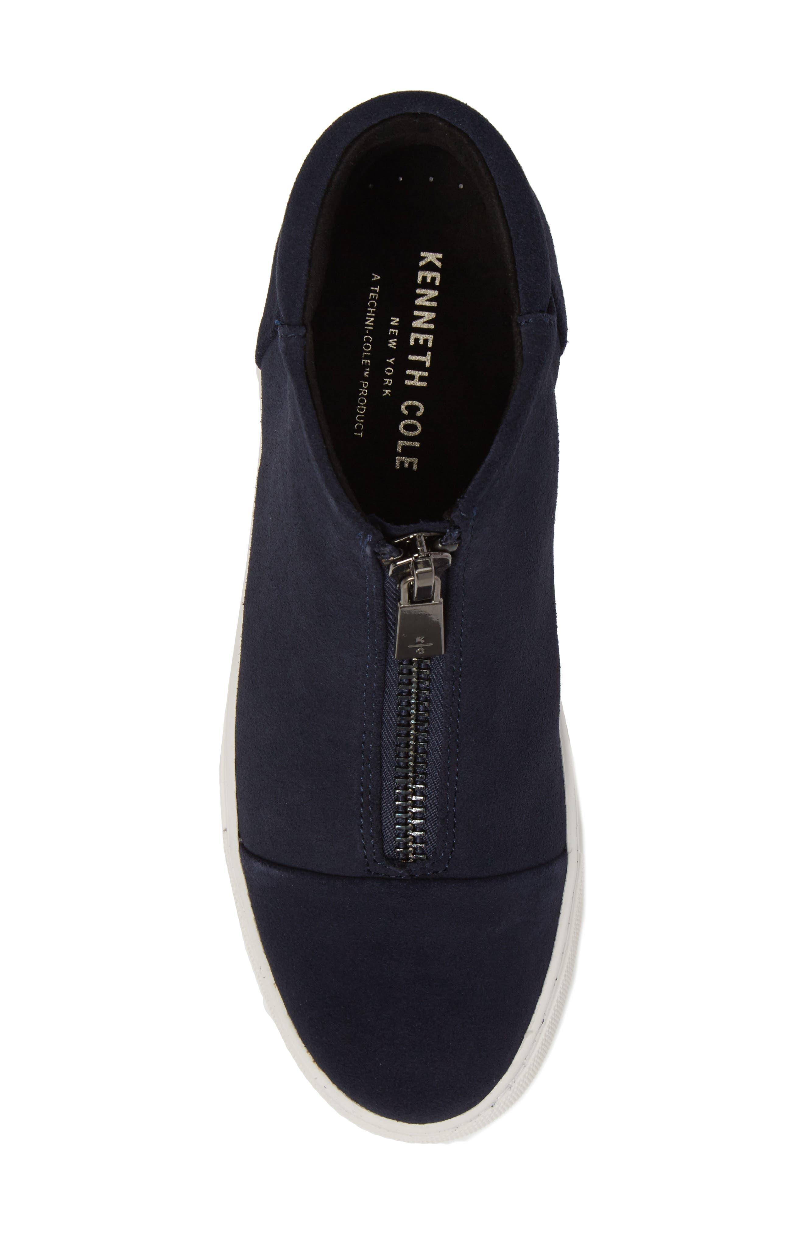 Alternate Image 5  - Kenneth Cole New York Kayla Zip Sneaker (Women)