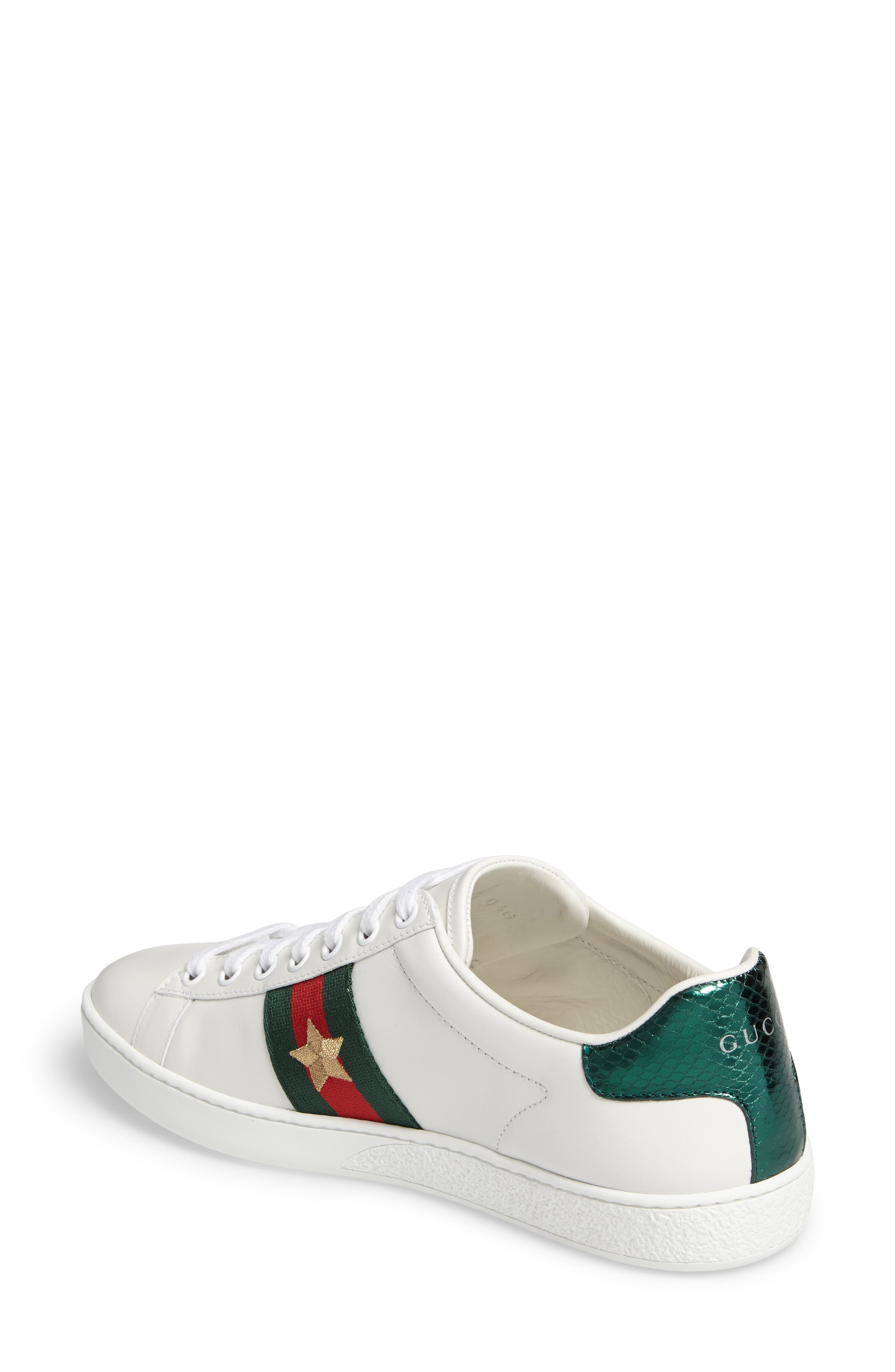 Alternate Image 2  - Gucci New Ace Pineapple Sneaker (Women)