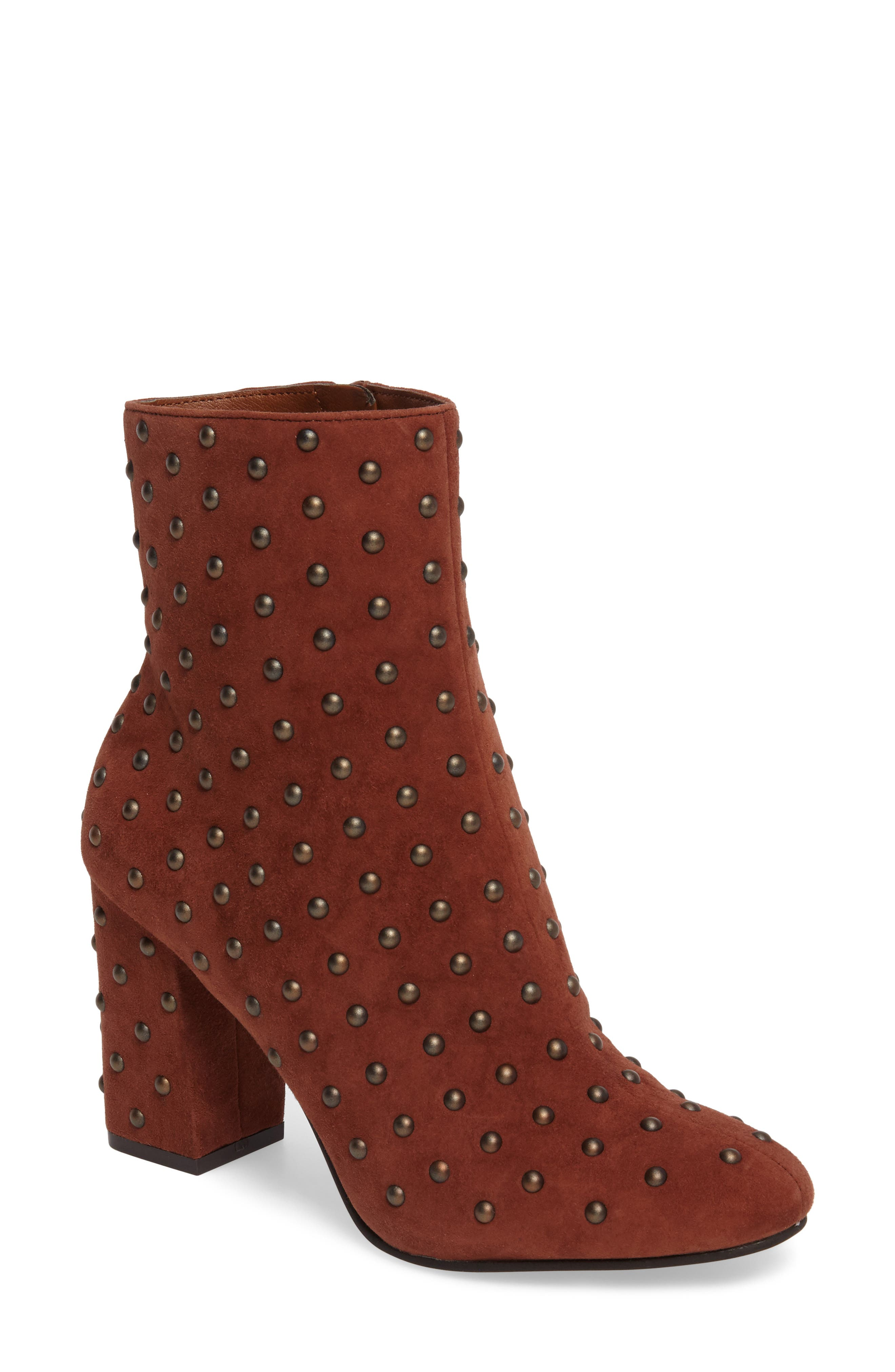 Alternate Image 1 Selected - Lucky Brand Wesson II Studded Bootie (Women)