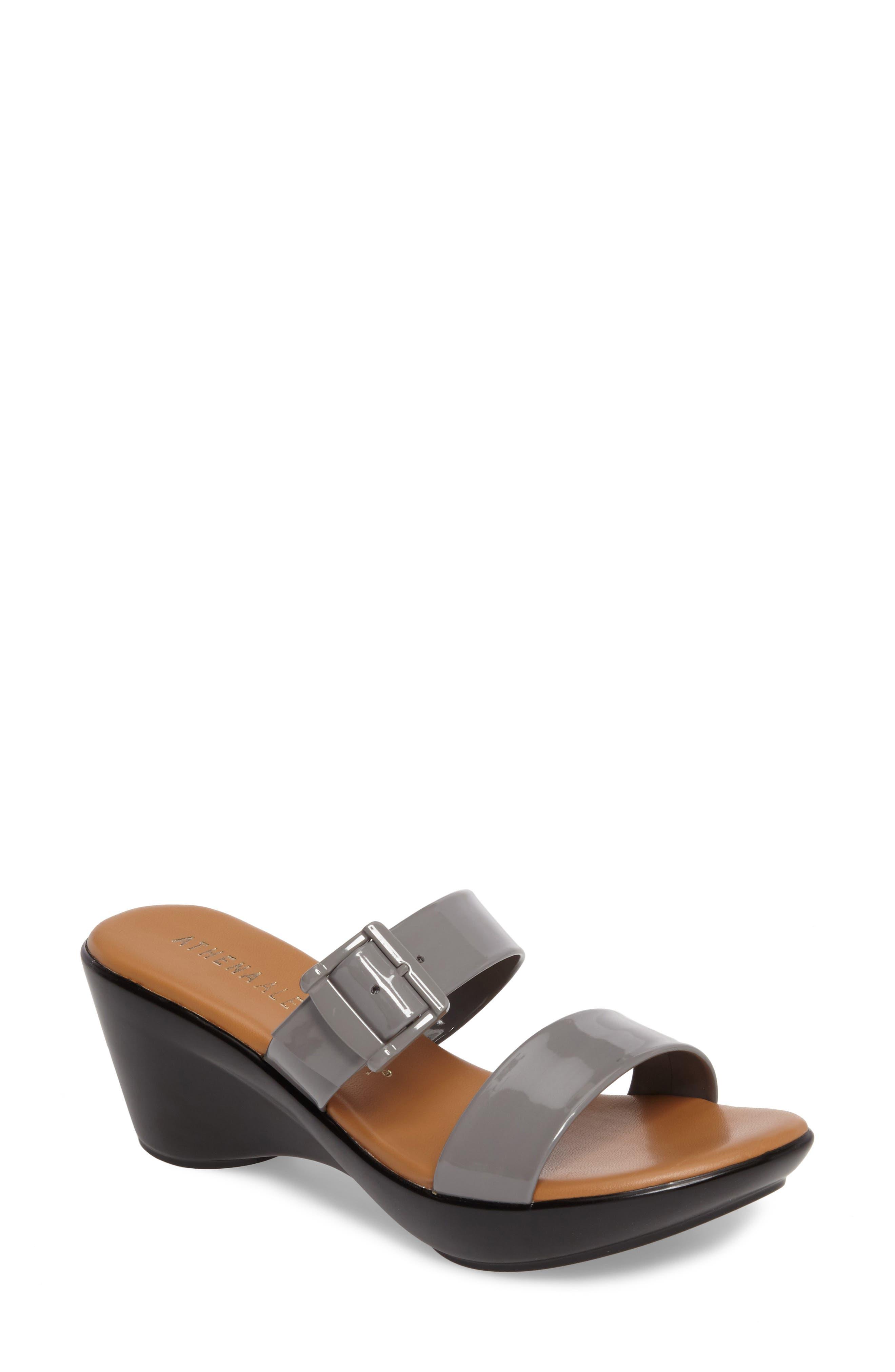 Alternate Image 1 Selected - Athena Alexander Darlling Wedge Sandal (Women)