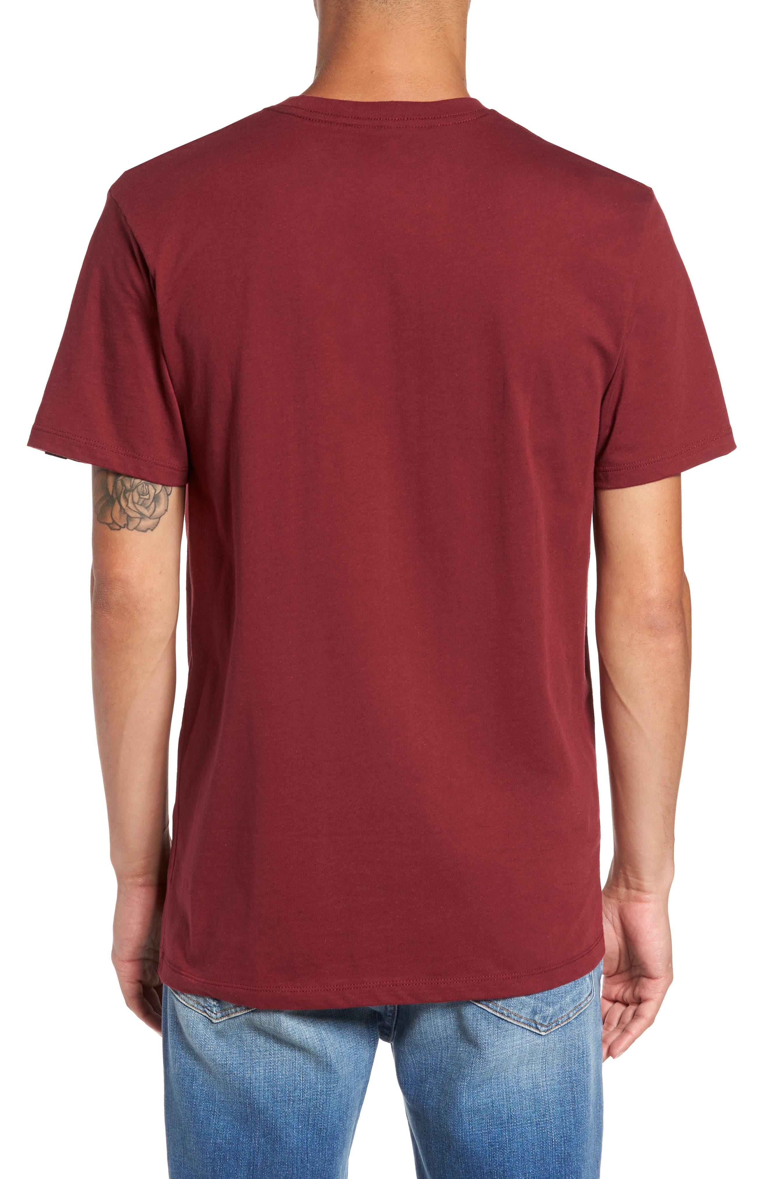 Alternate Image 2  - Vans Thunderbird Graphic Pocket T-Shirt