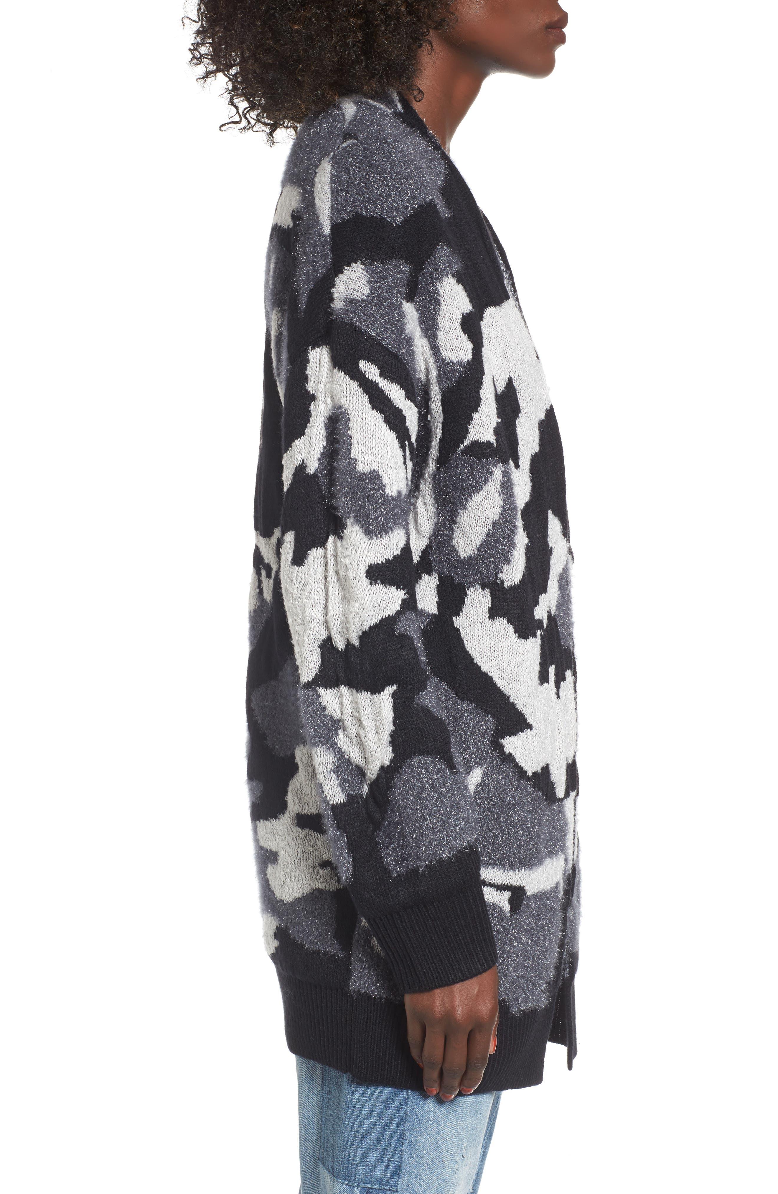 Alternate Image 3  - BP. Camouflage Knit Cardigan