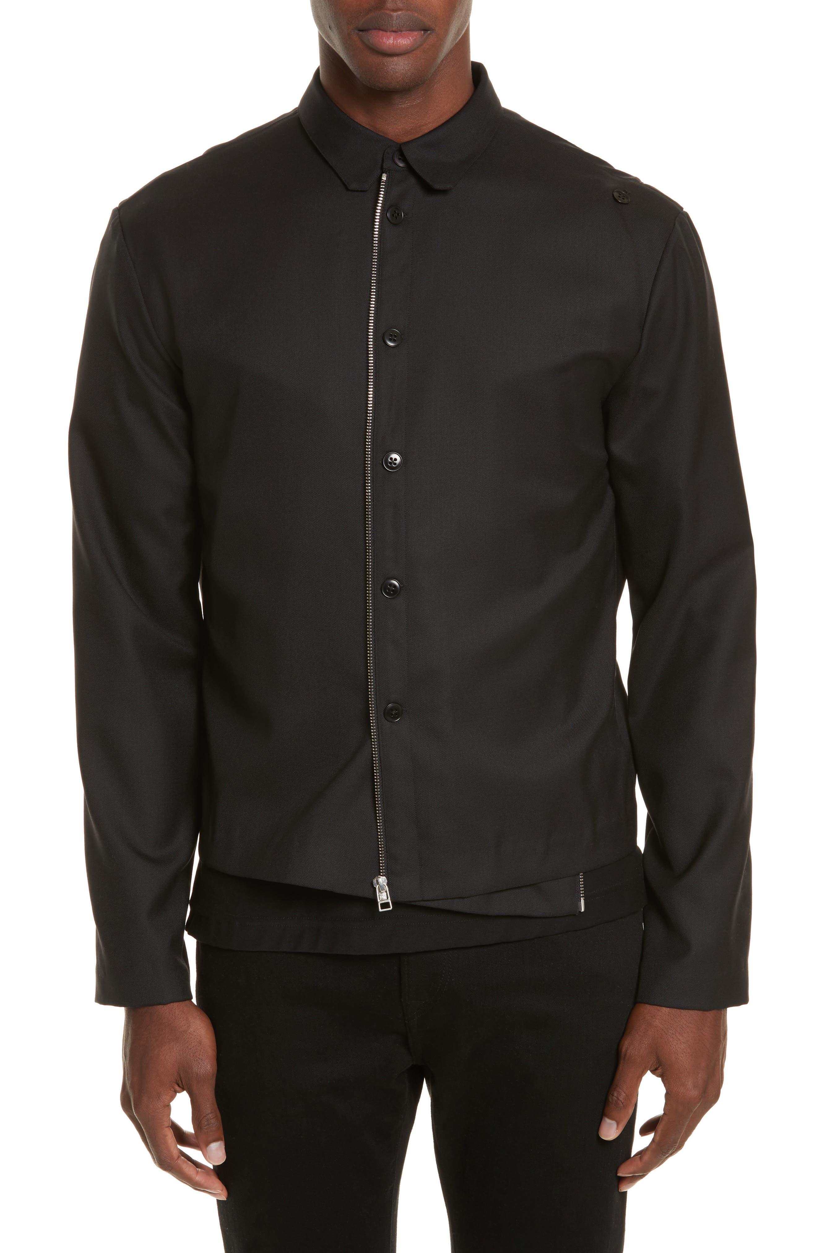 Expandable Jacket,                             Alternate thumbnail 4, color,                             Black