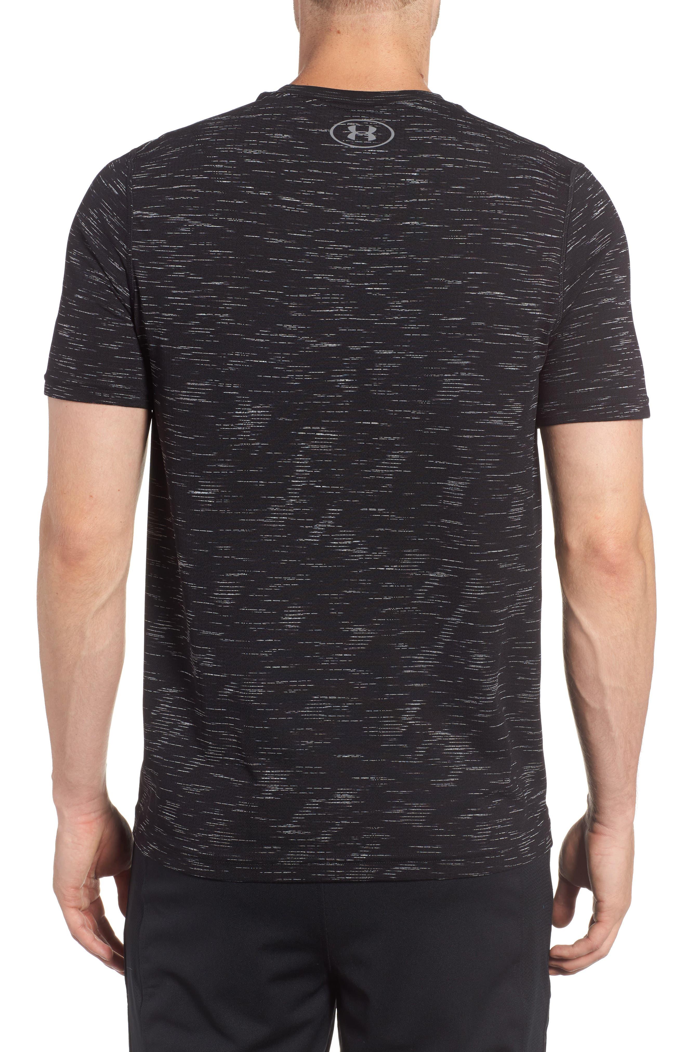 Threadborne Regular Fit T-Shirt,                             Alternate thumbnail 2, color,                             Black / Graphite