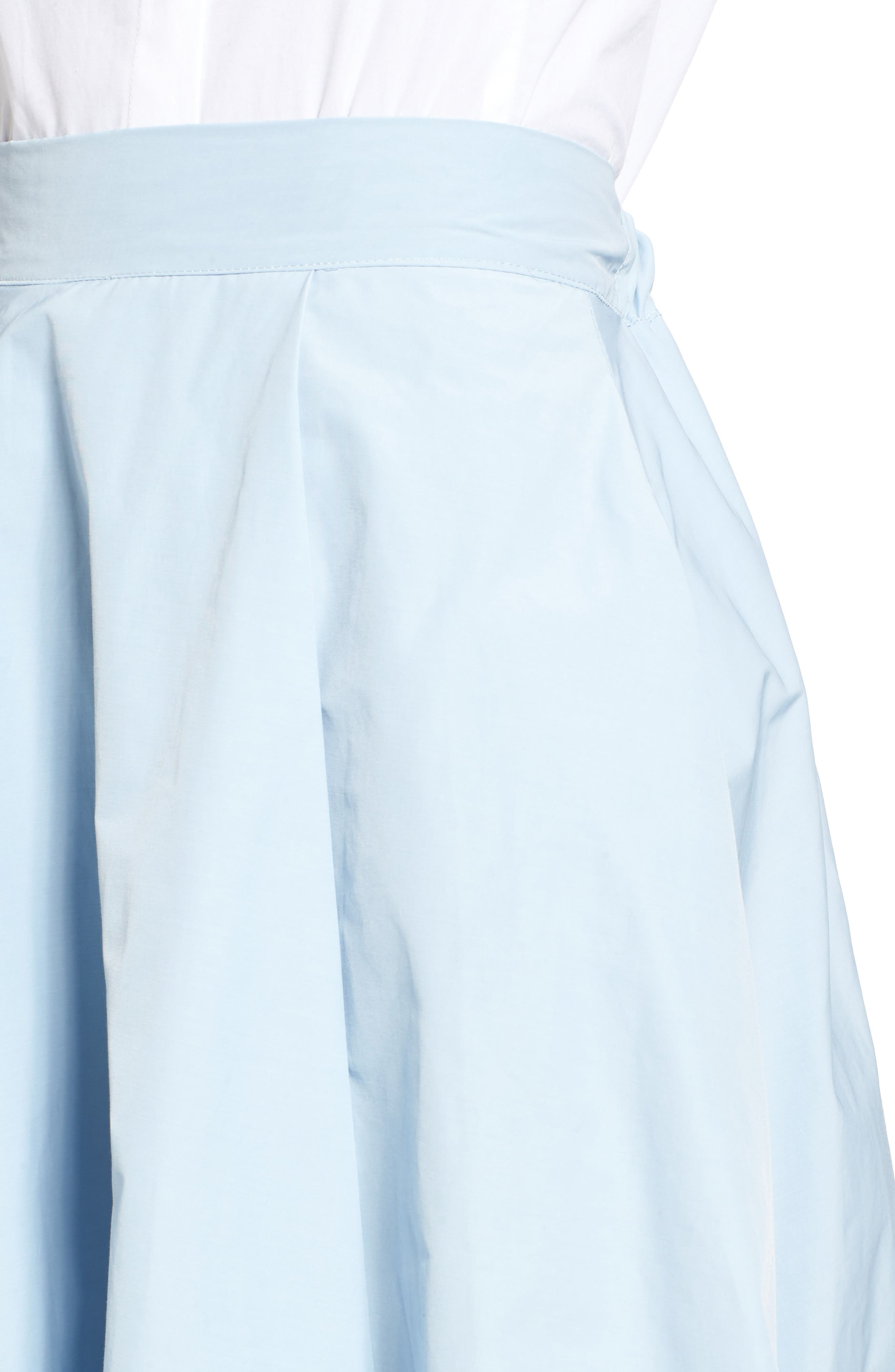 Alternate Image 4  - J.O.A. Step Hem Skirt