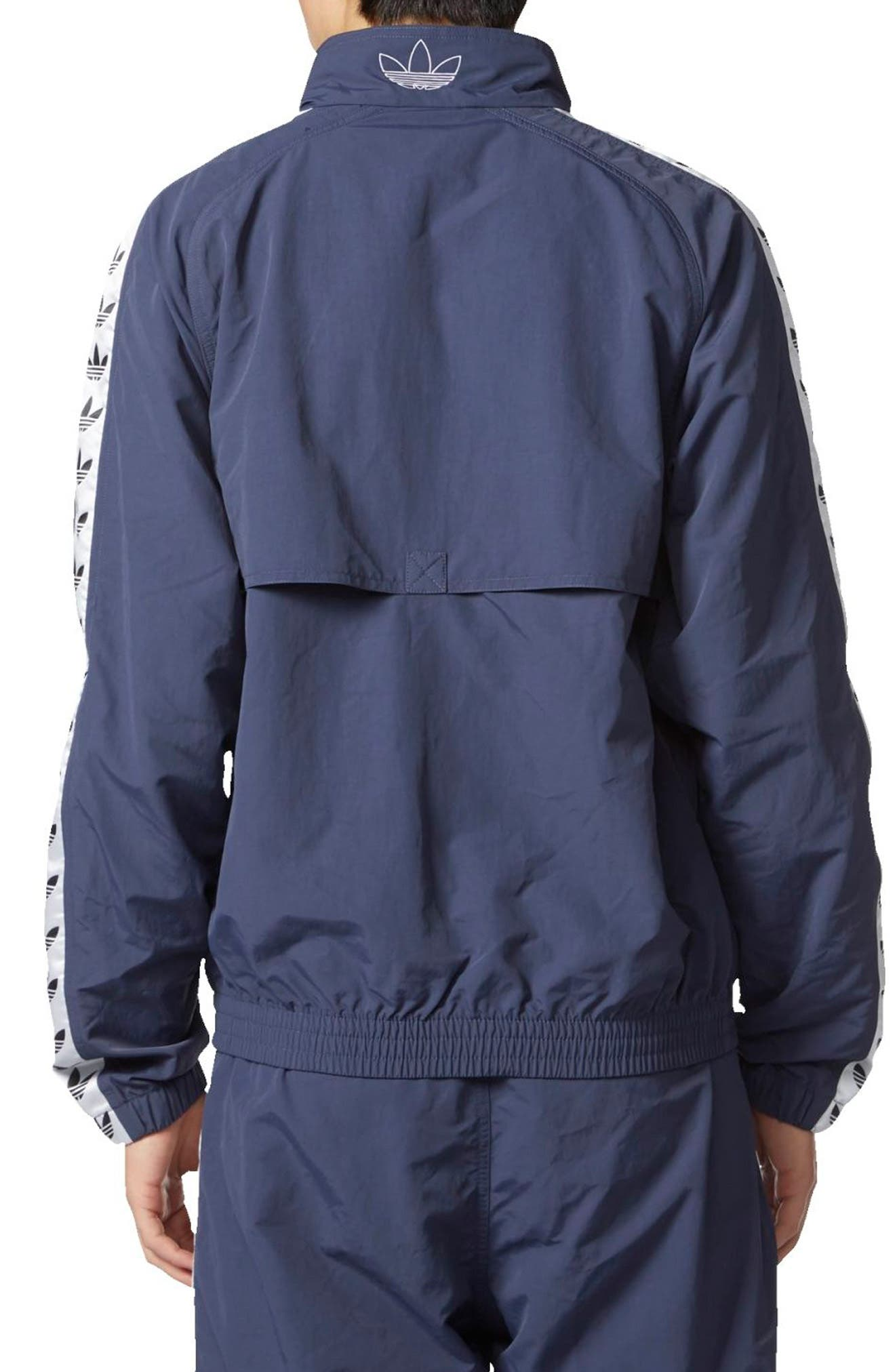 Alternate Image 2  - adidas Originals TNT Trefoil Windbreaker
