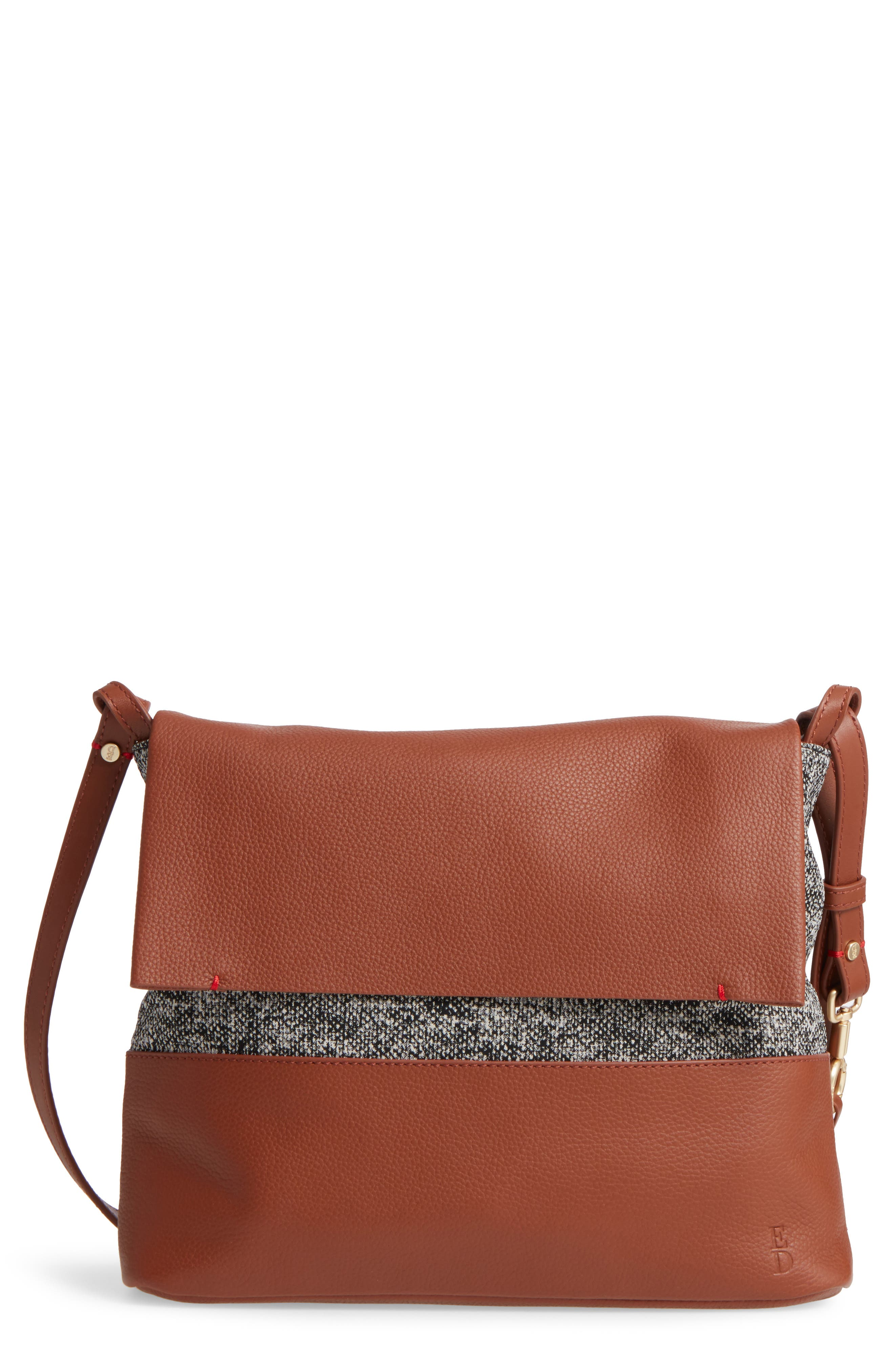 Medium Brea Crossbody Bag,                         Main,                         color, Whiskey